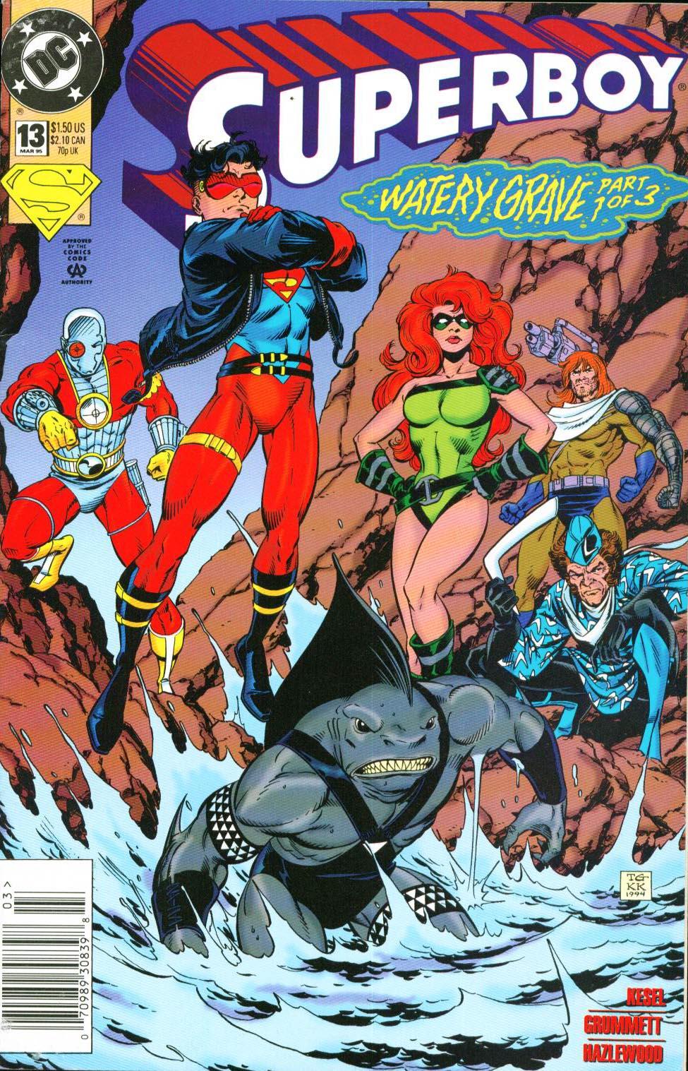 Superboy (1994) 13 Page 1