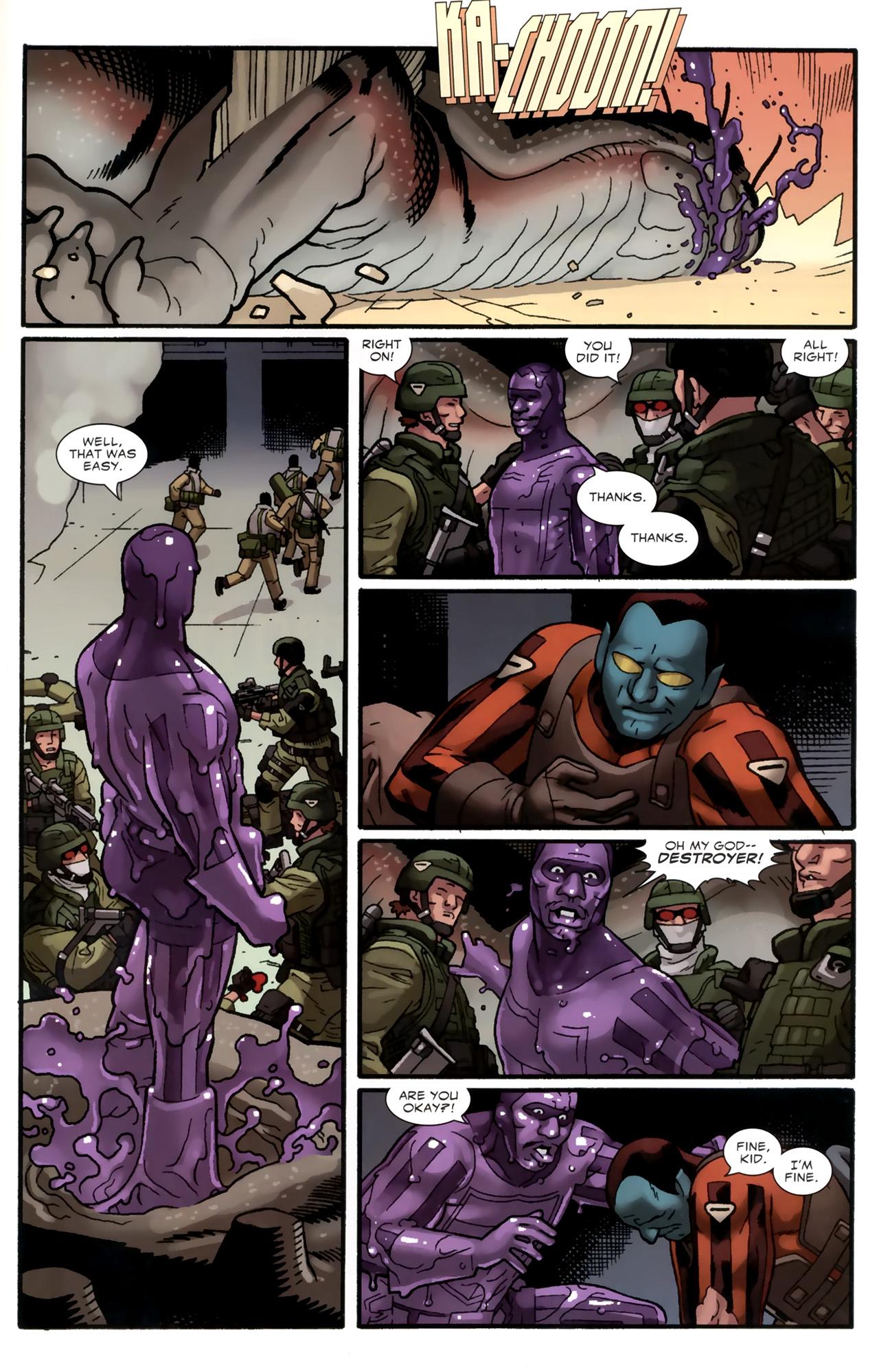 Read online Destroyer comic -  Issue #4 - 16