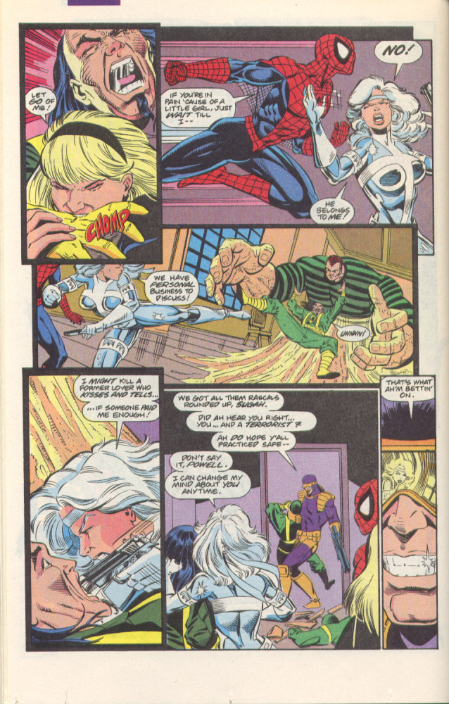 Read online Silver Sable and the Wild Pack comic -  Issue #1 - 23