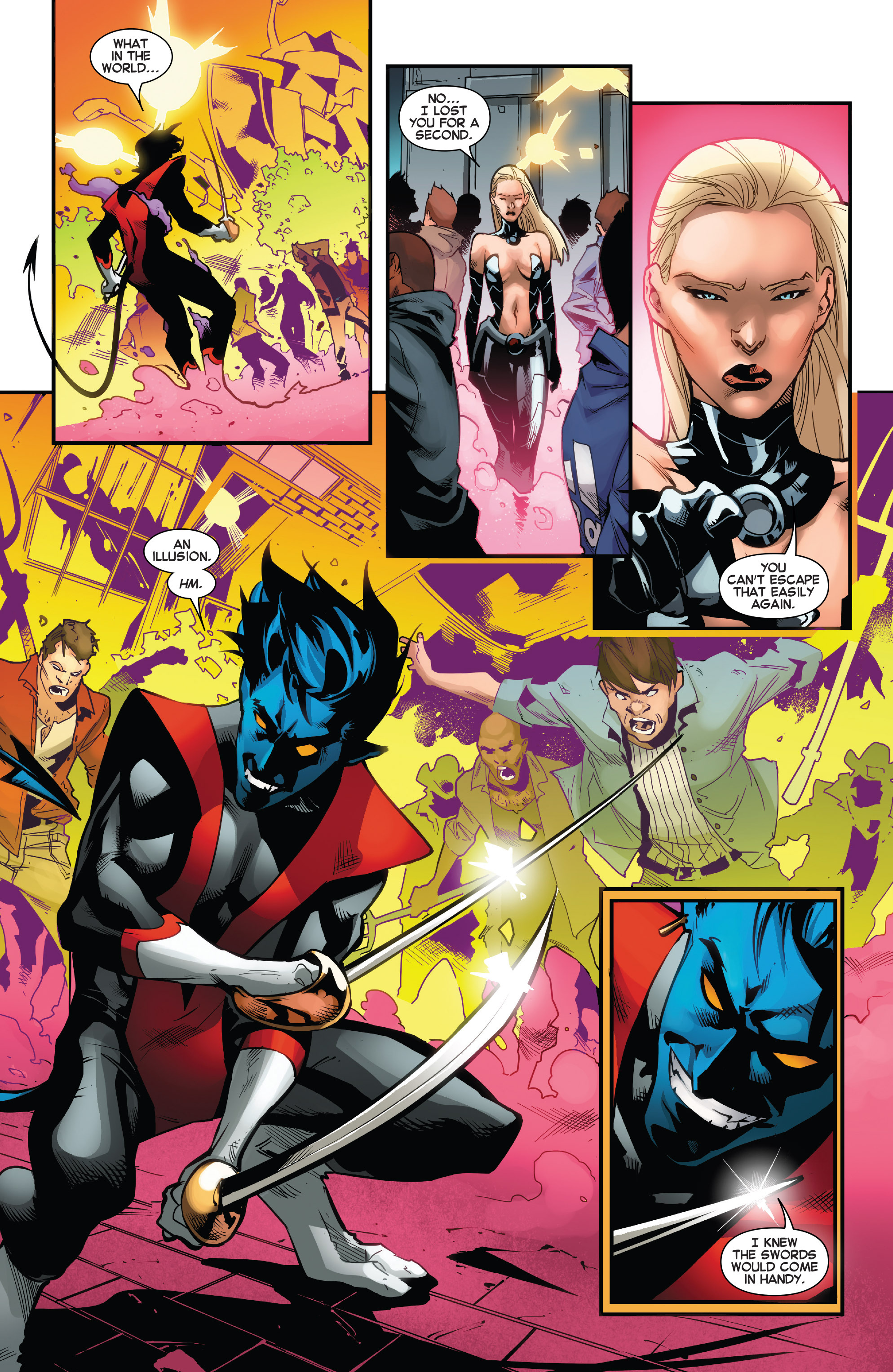 Read online Amazing X-Men (2014) comic -  Issue #13 - 14