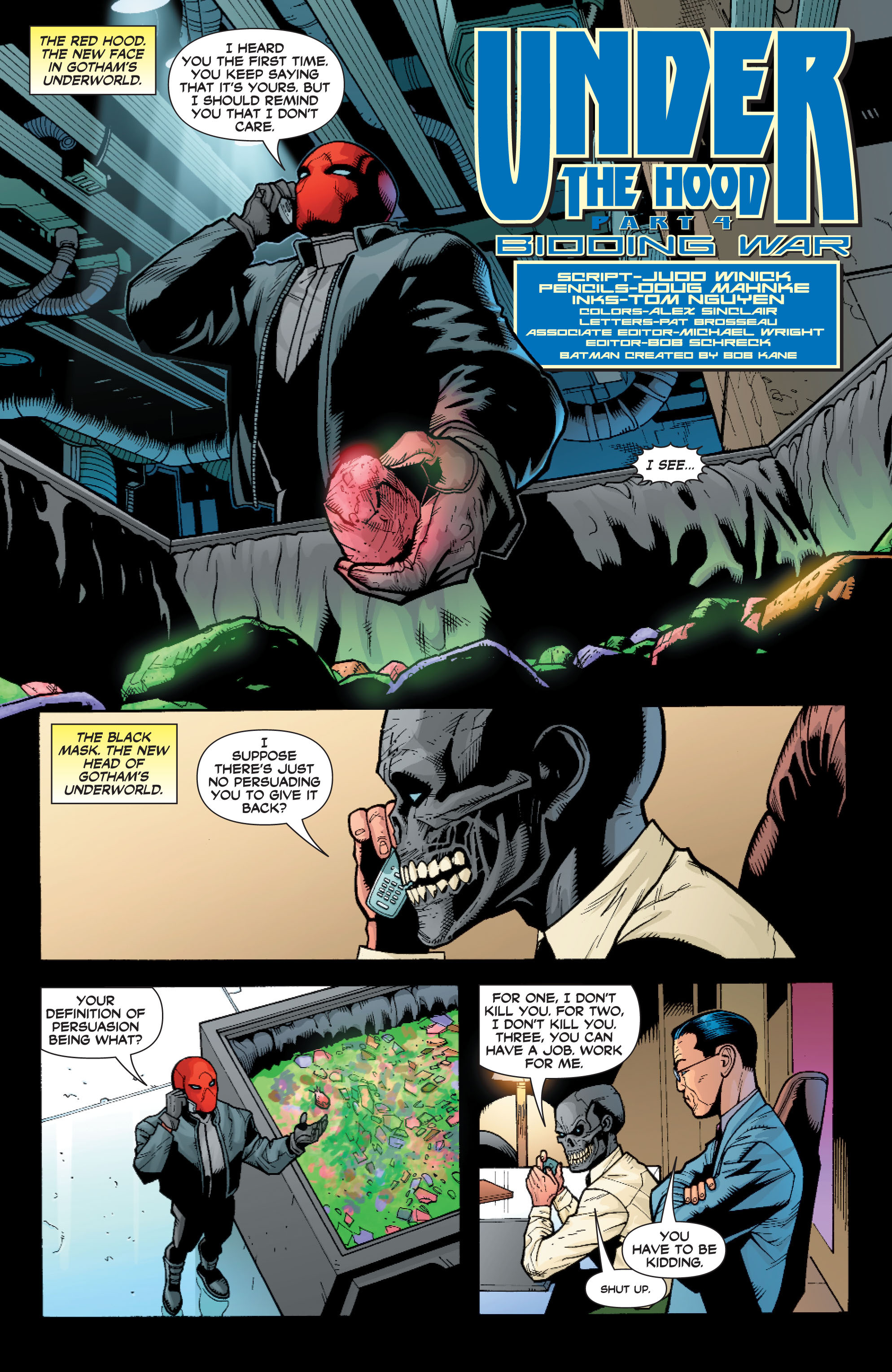 Read online Batman: Under The Red Hood comic -  Issue # Full - 83