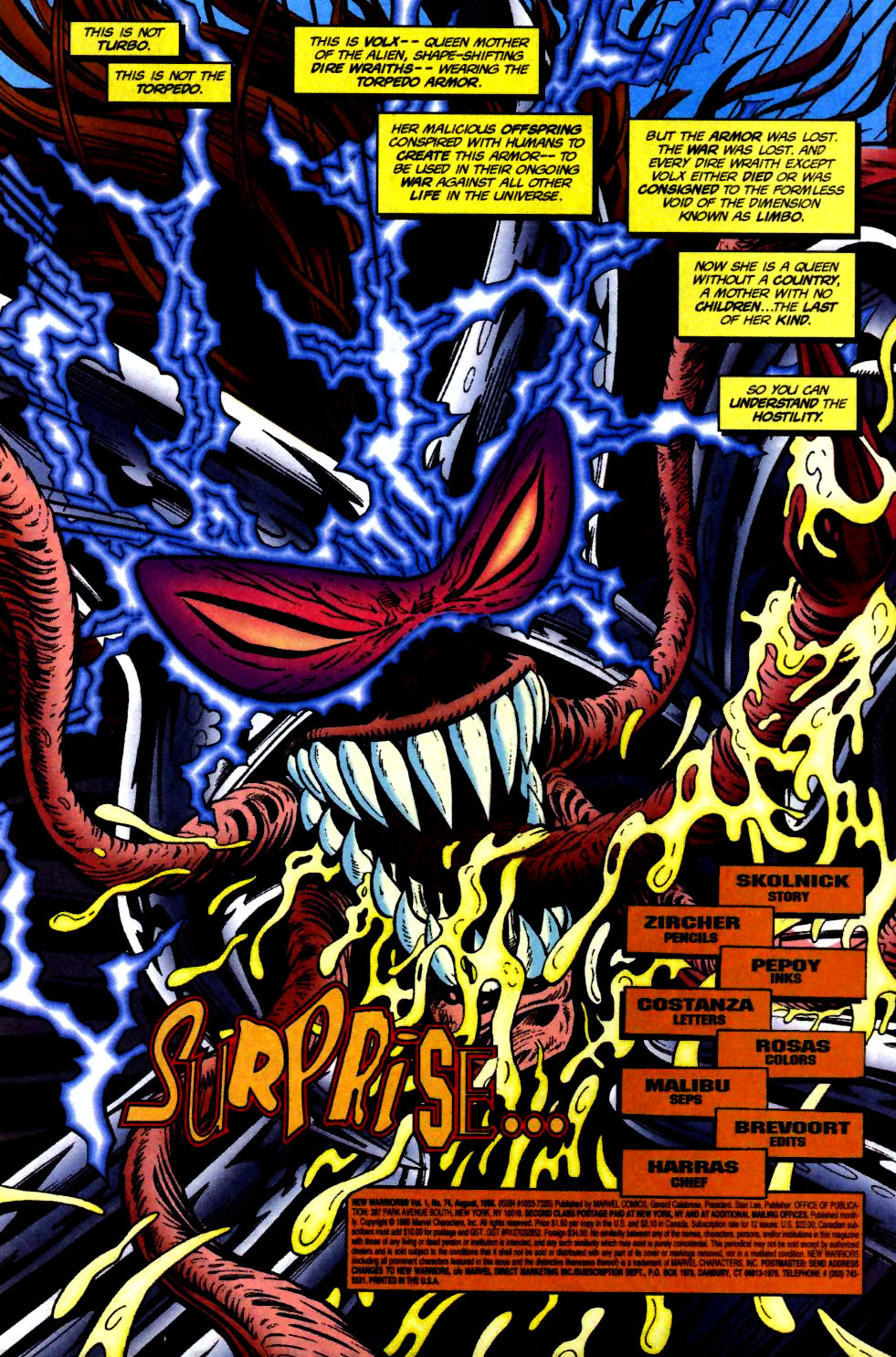 The New Warriors Issue #74 #78 - English 2