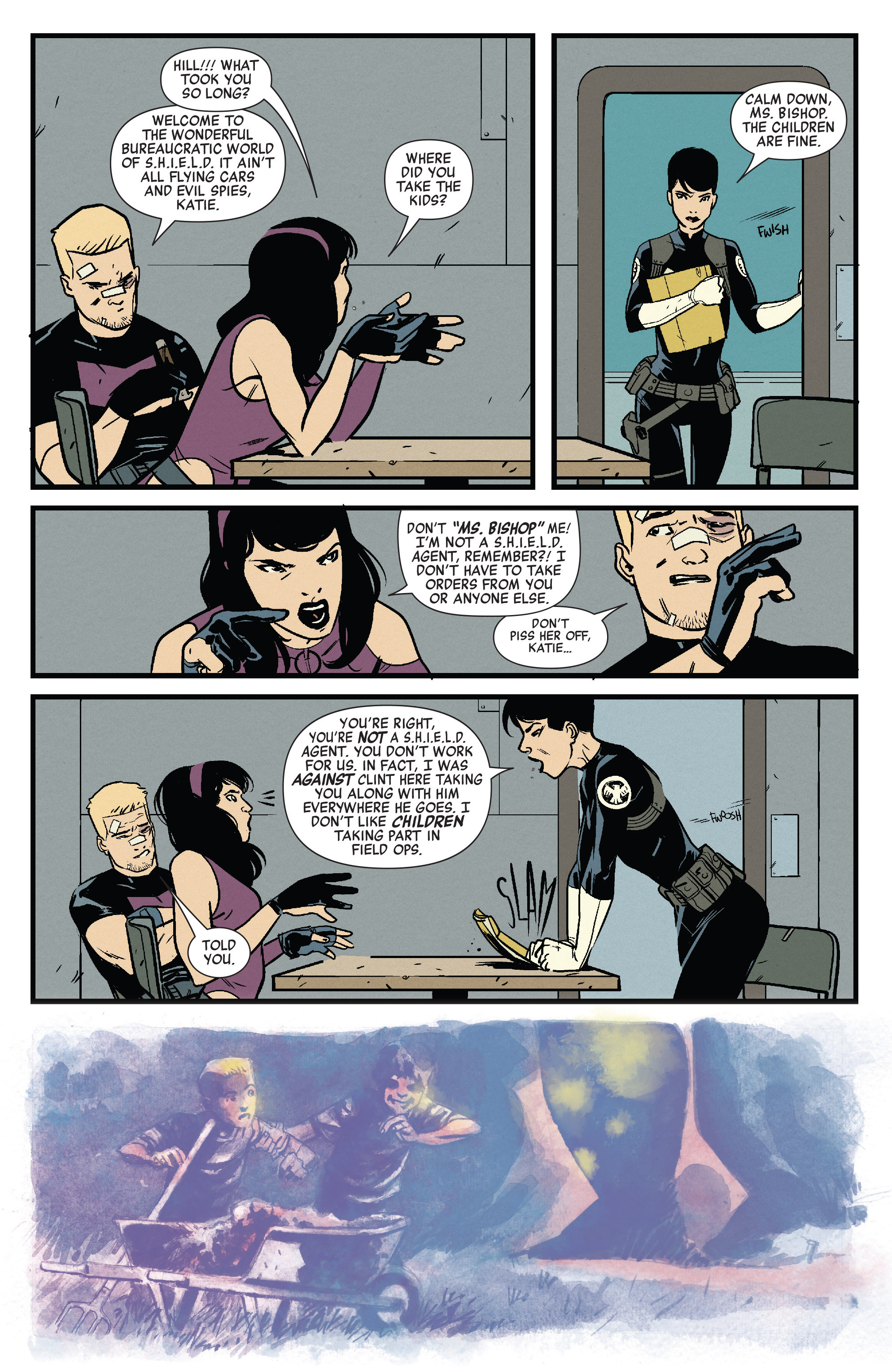 Read online All-New Hawkeye (2015) comic -  Issue #3 - 4