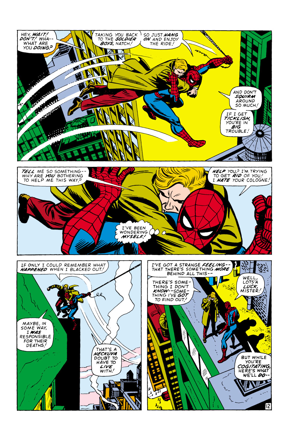 The Amazing Spider-Man (1963) 108 Page 12