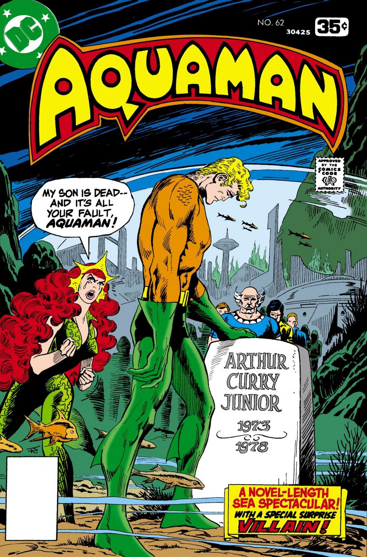 Read online Aquaman (1962) comic -  Issue #62 - 1