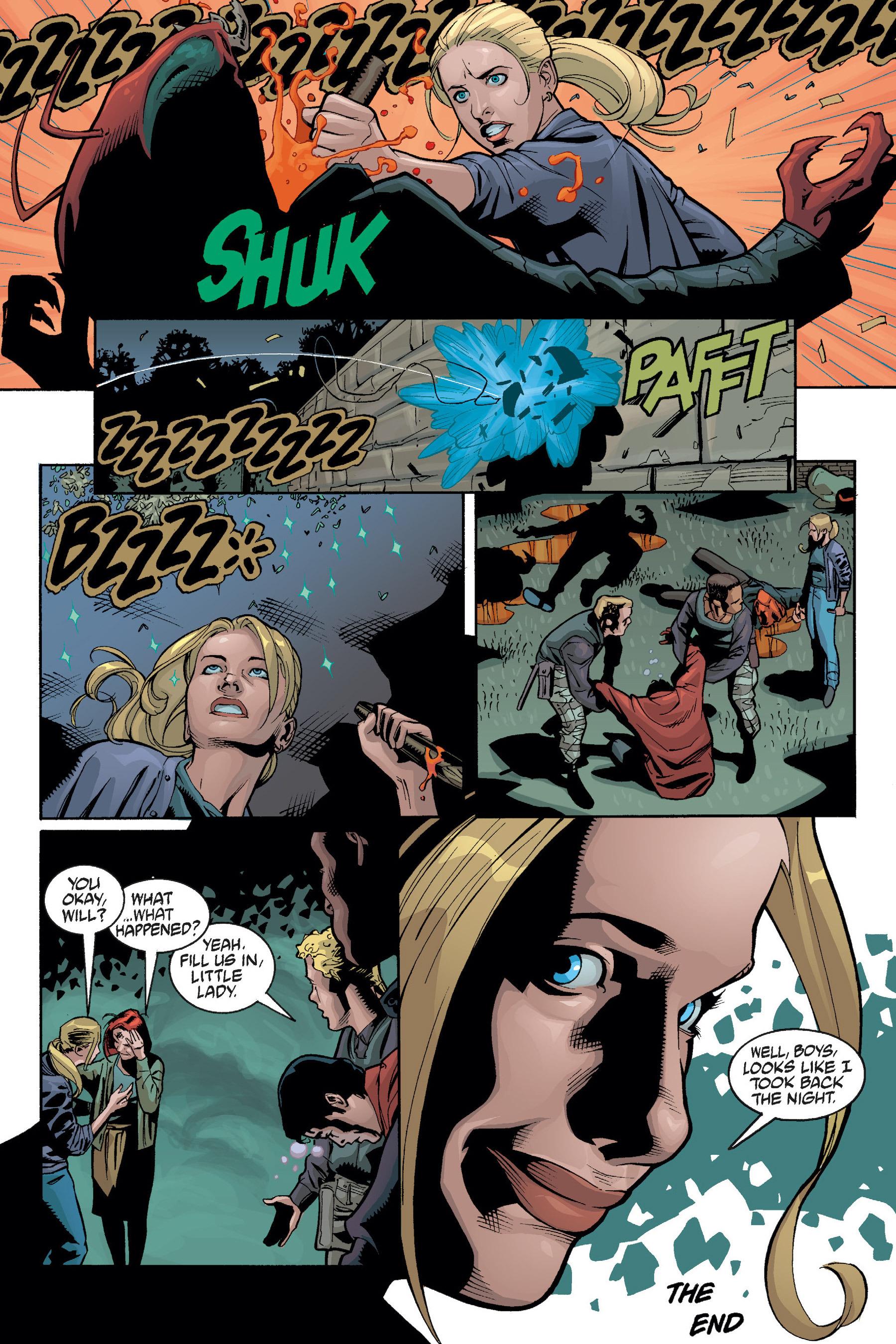 Read online Buffy the Vampire Slayer: Omnibus comic -  Issue # TPB 5 - 109