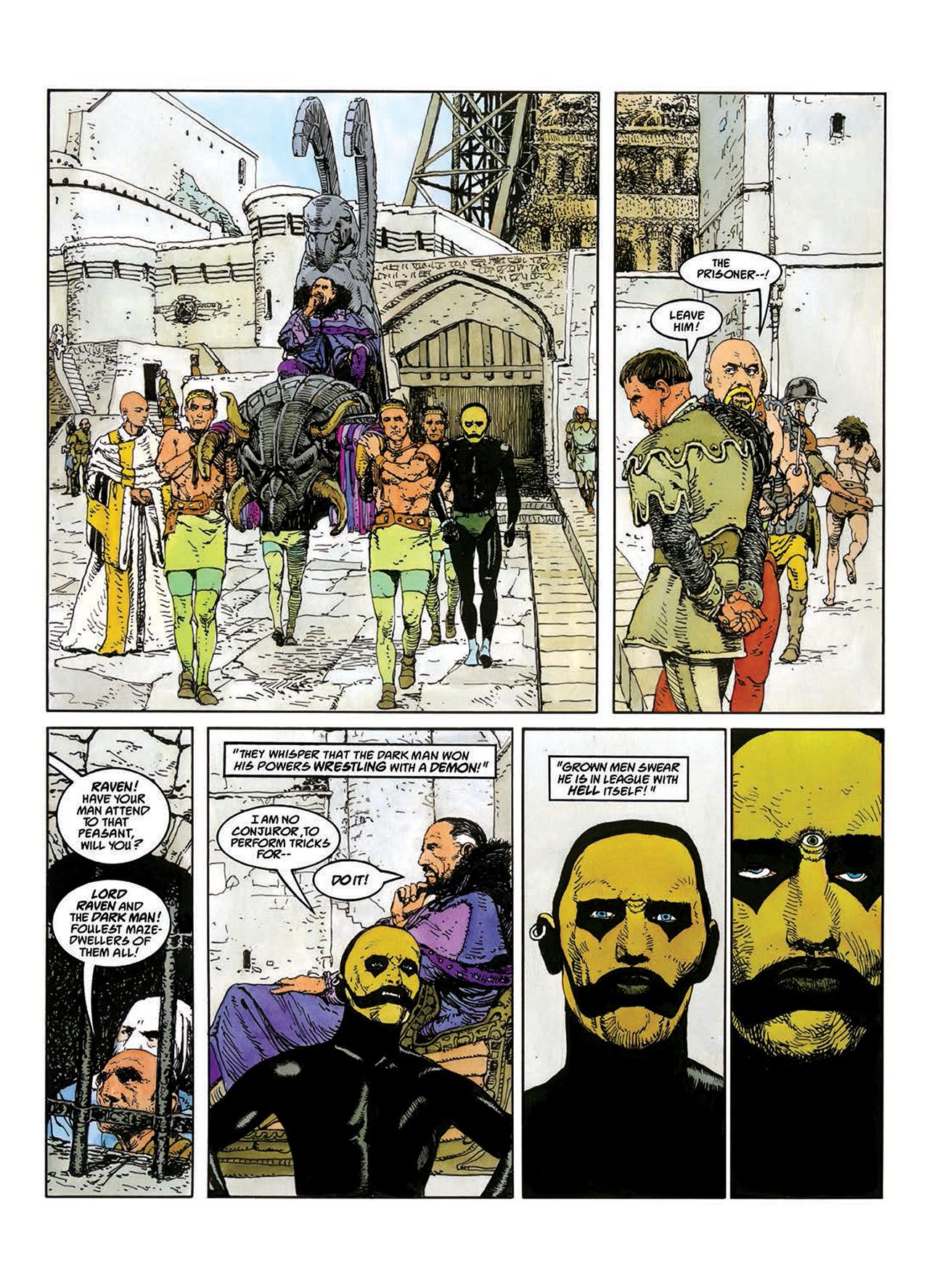 Read online Mazeworld comic -  Issue # TPB - 33