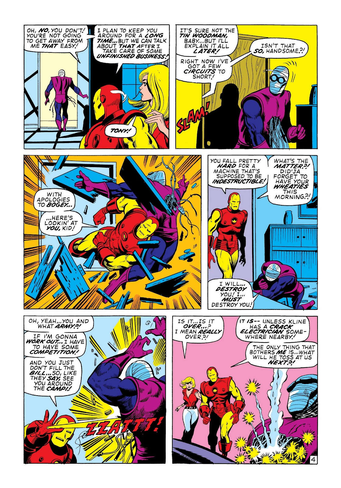 Read online Marvel Masterworks: The Invincible Iron Man comic -  Issue # TPB 8 (Part 2) - 26