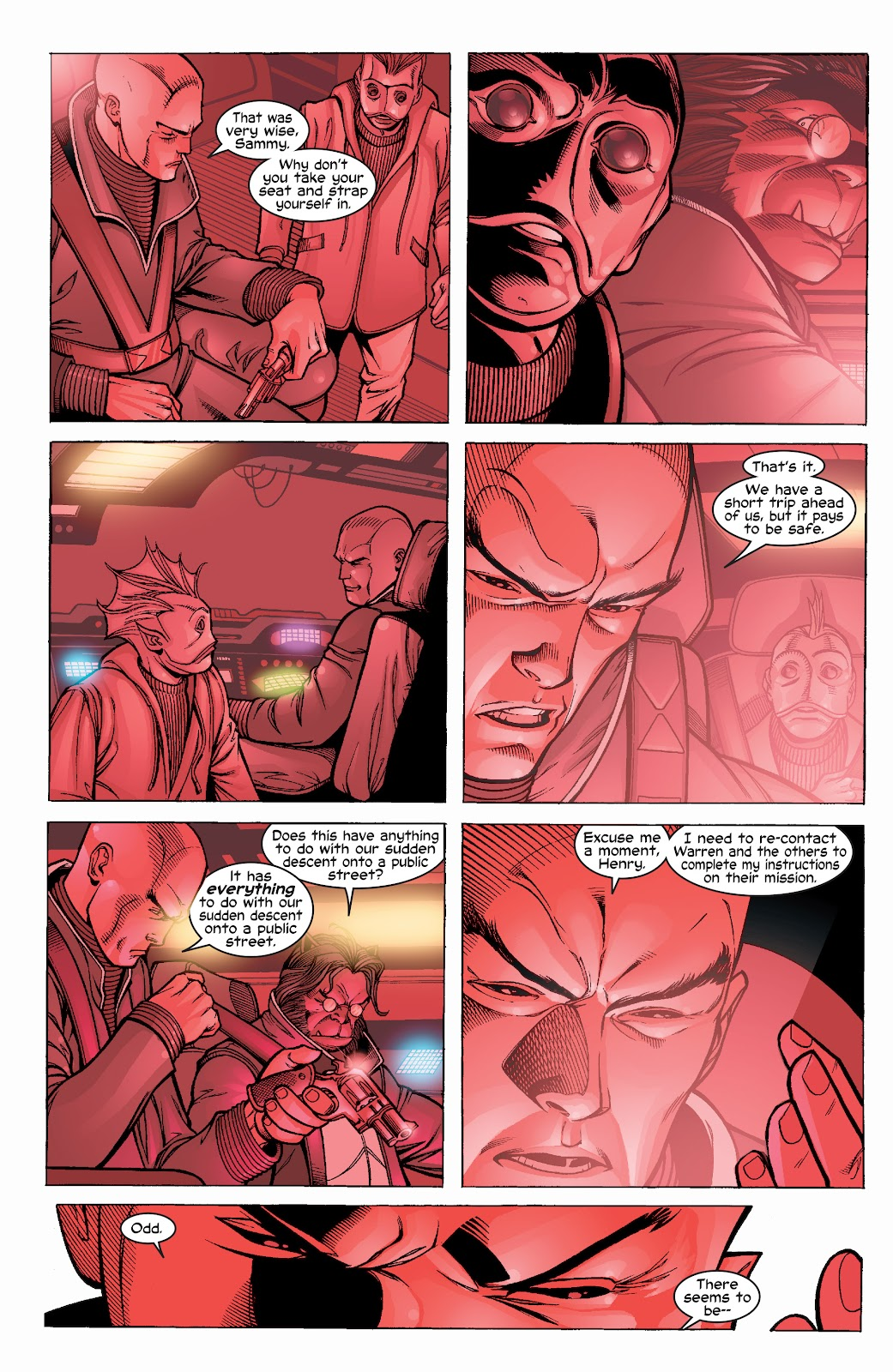 Read online X-Men: Unstoppable comic -  Issue # TPB (Part 1) - 21