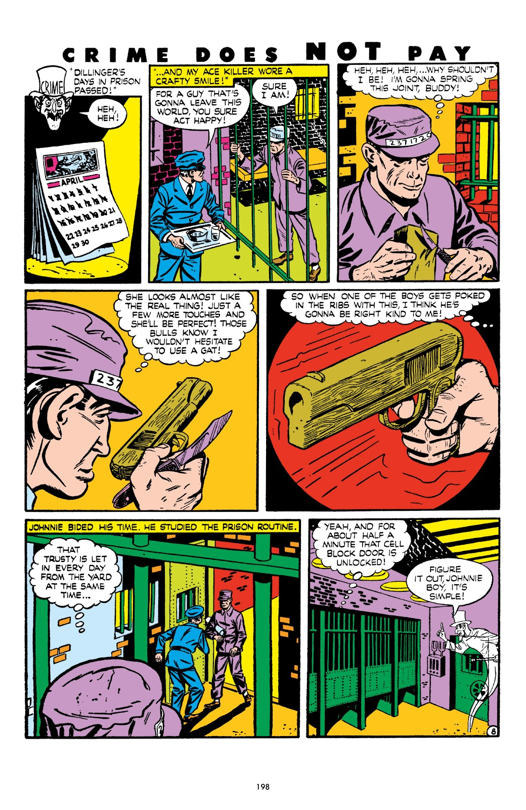 Read online Crime Does Not Pay Archives comic -  Issue # TPB 6 (Part 2) - 99