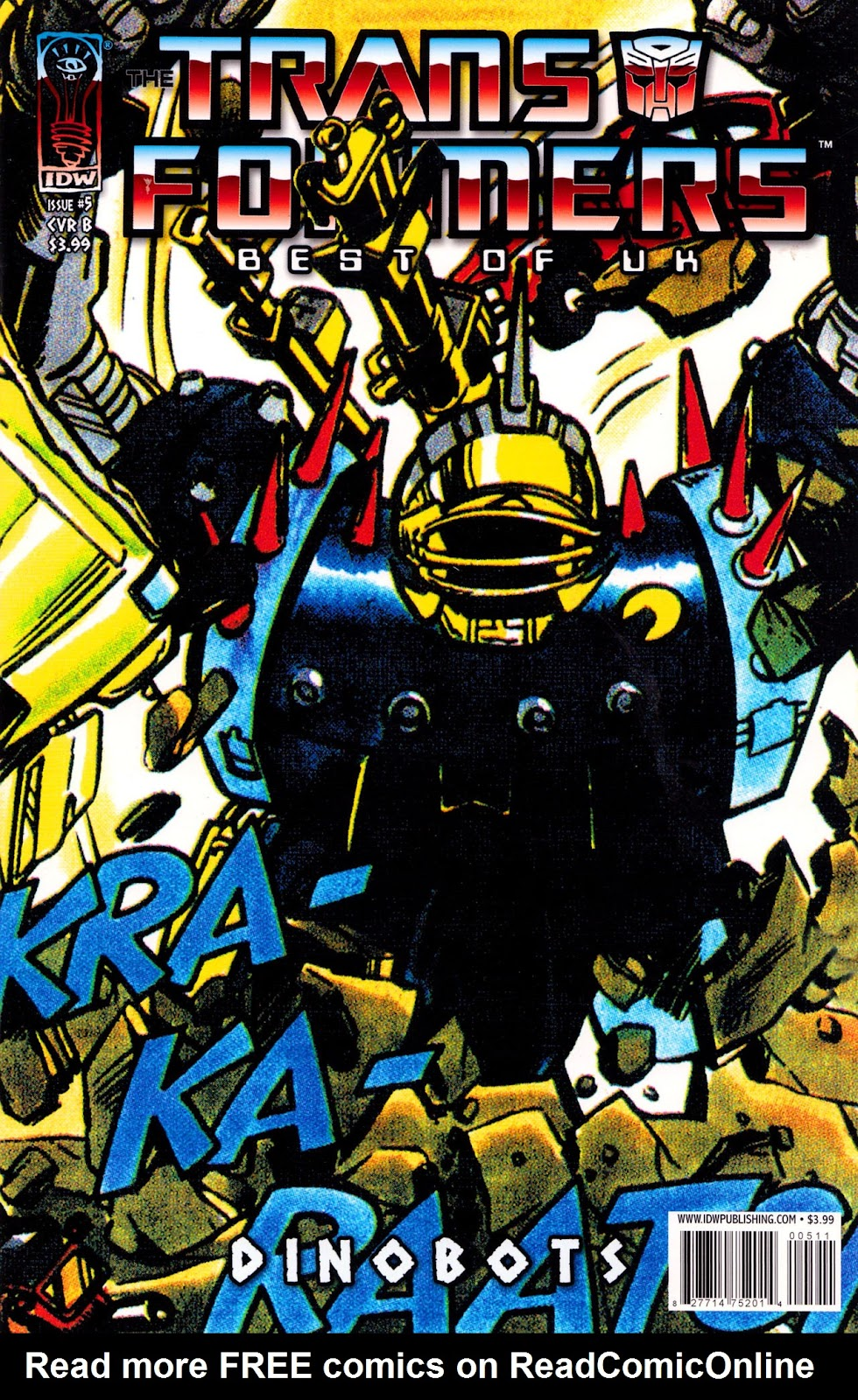 Read online The Transformers: Best of UK: Dinobots comic -  Issue #5 - 1