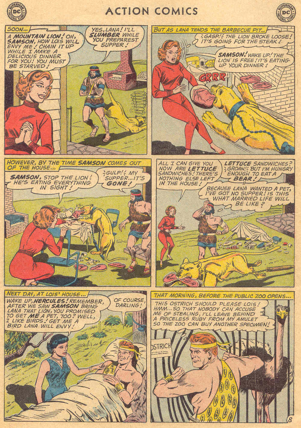 Read online Action Comics (1938) comic -  Issue #279 - 10