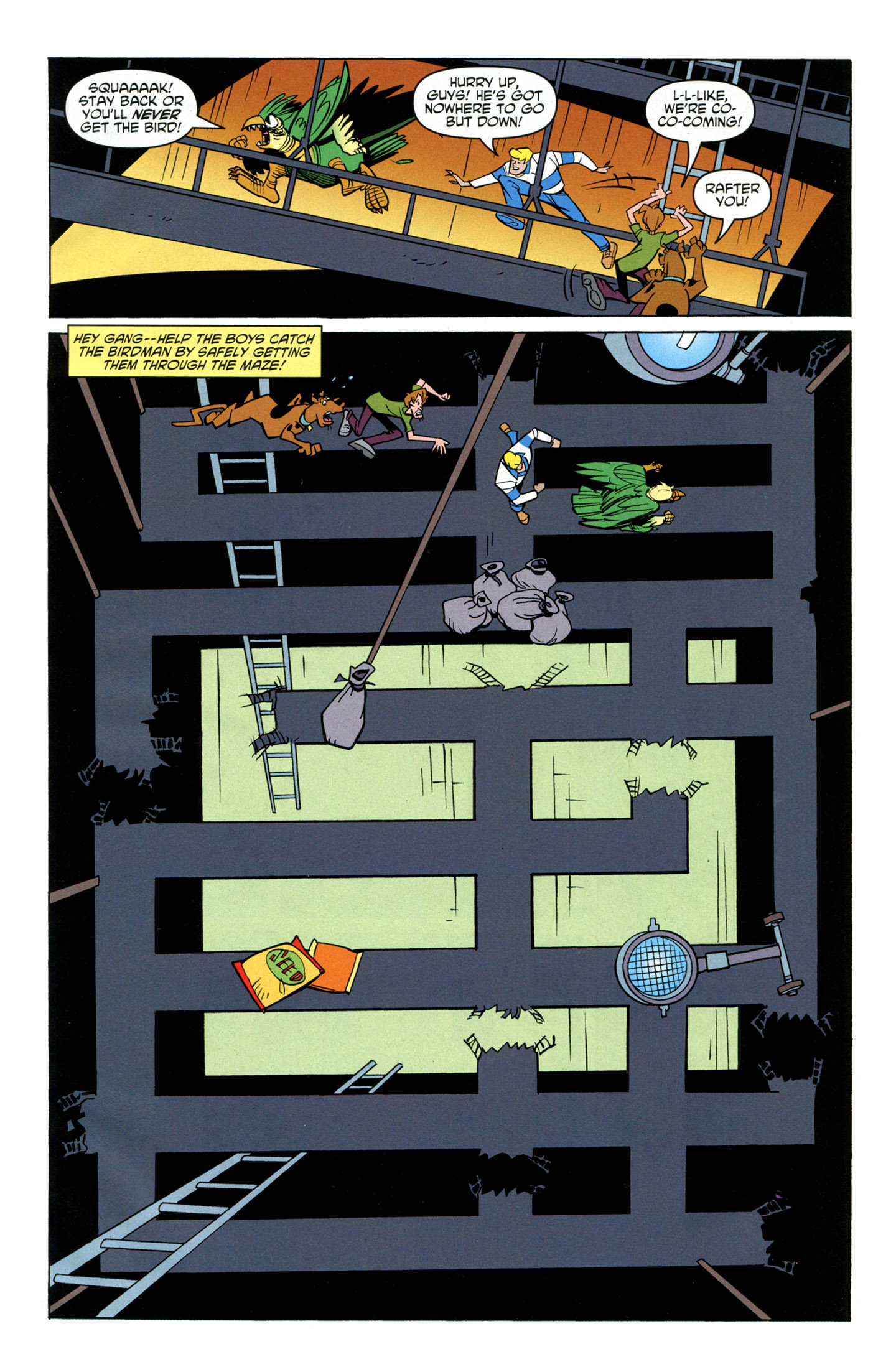 Read online Scooby-Doo: Where Are You? comic -  Issue #16 - 31
