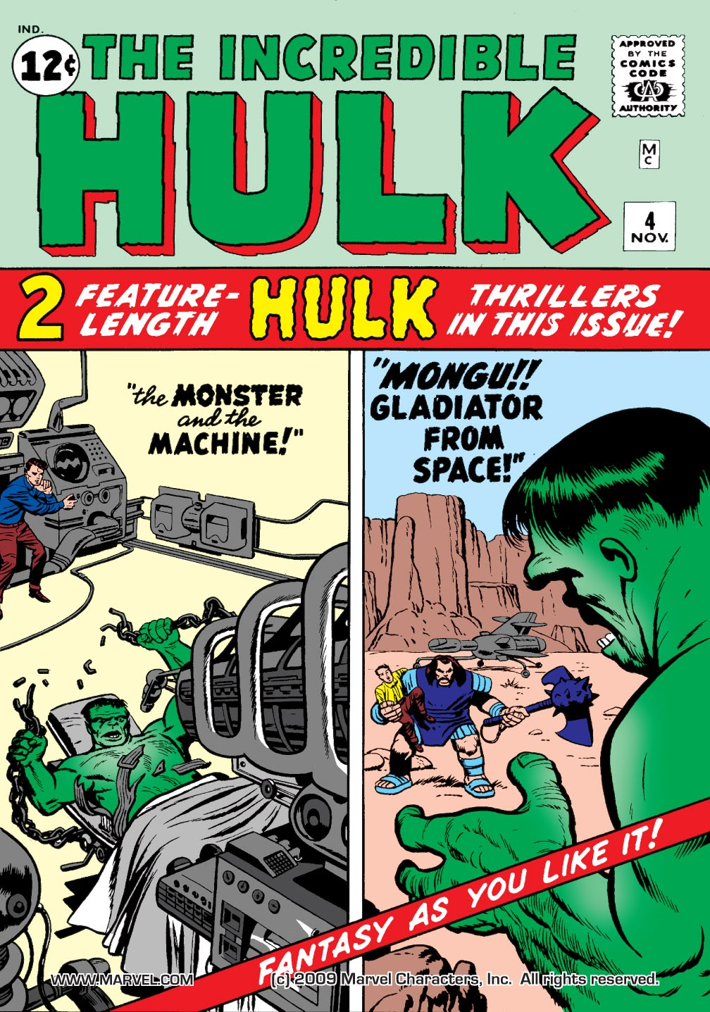 Read online Marvel Masterworks: The Incredible Hulk comic -  Issue # TPB 1 (Part 1) - 78
