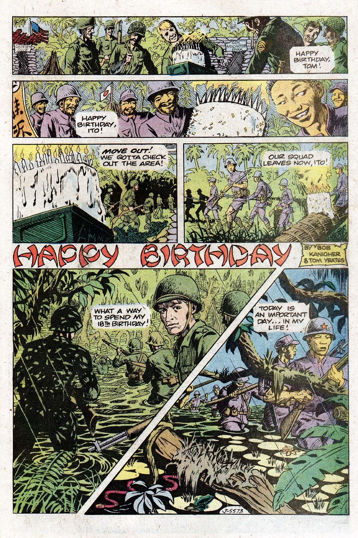 Read online Sgt. Rock comic -  Issue #331 - 31