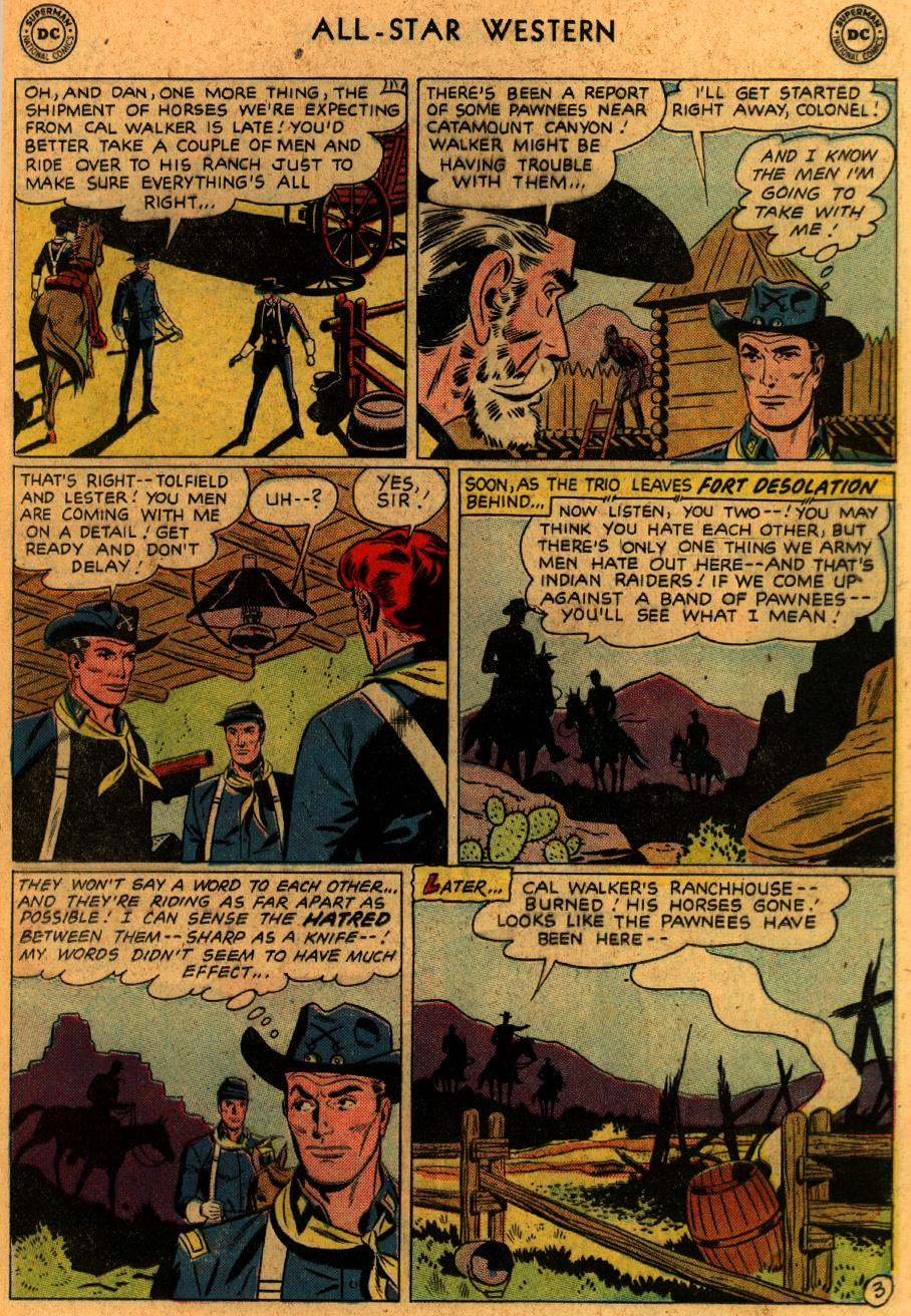 Read online All-Star Western (1951) comic -  Issue #102 - 17