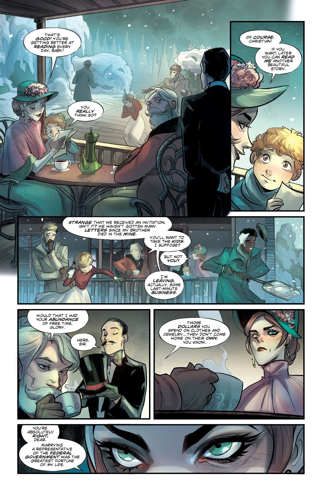 Read online Mirka Andolfo's Mercy comic -  Issue #2 - 10