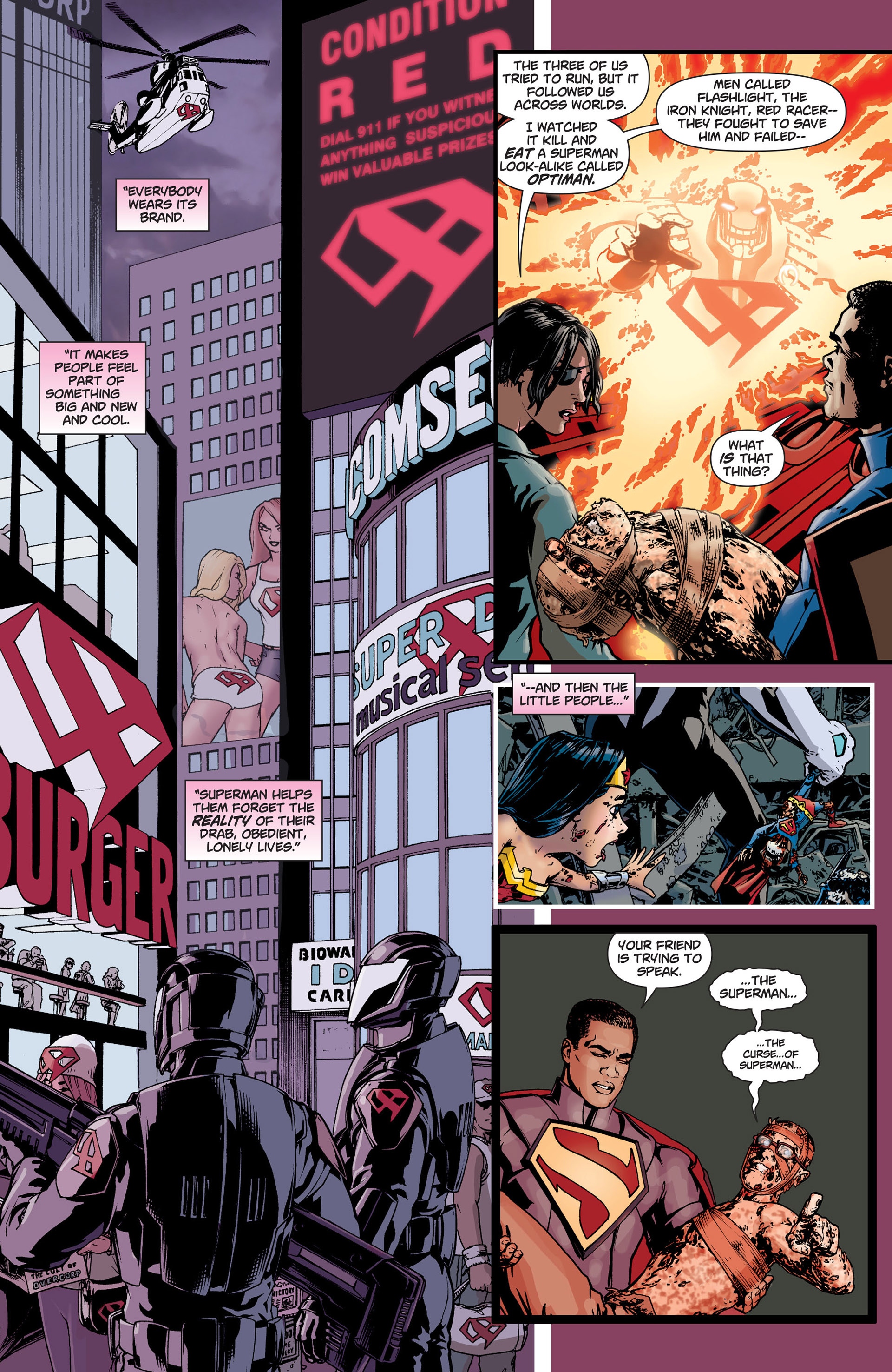 Read online Action Comics (2011) comic -  Issue #9 - 14