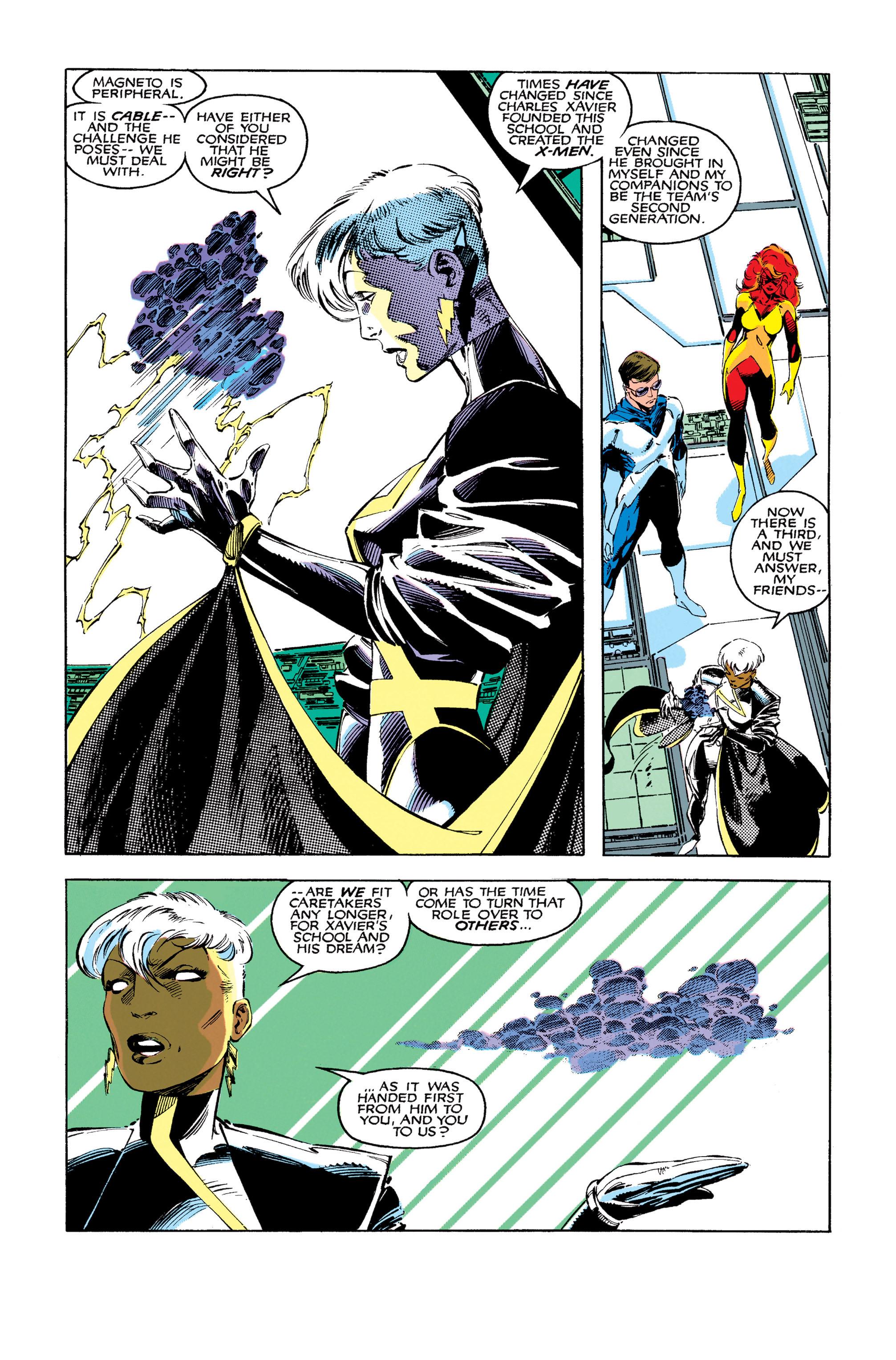 Read online Uncanny X-Men (1963) comic -  Issue #273 - 9
