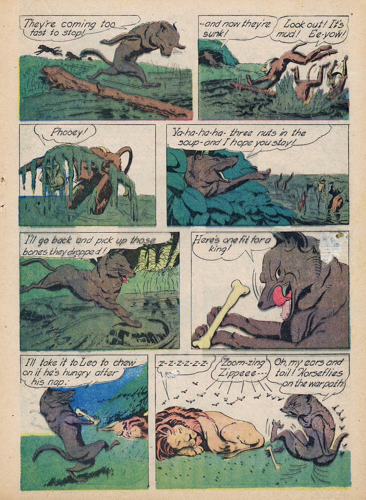 Read online Animal Comics comic -  Issue #7 - 31