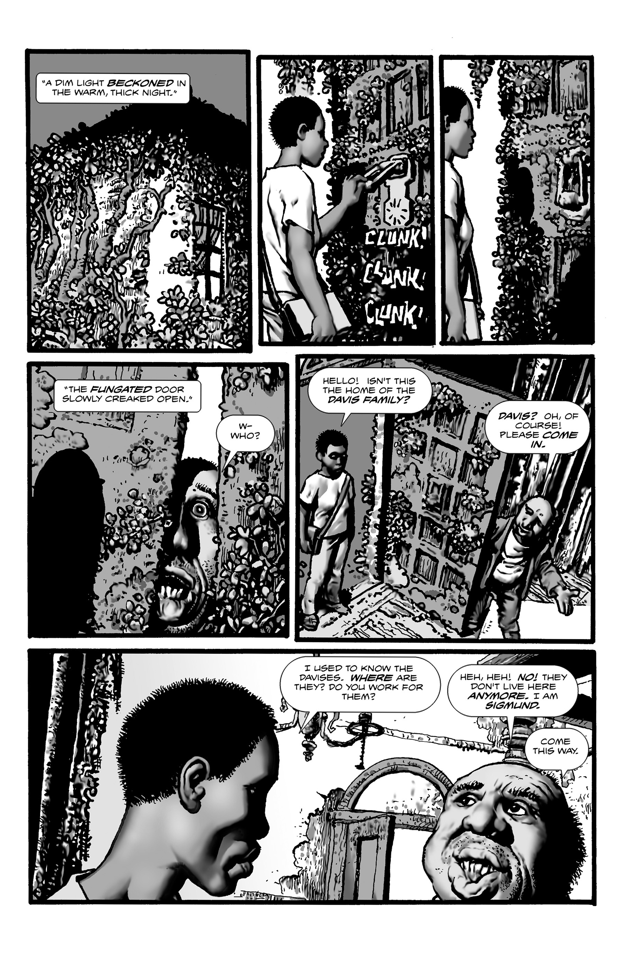 Read online Shadows on the Grave comic -  Issue #3 - 4