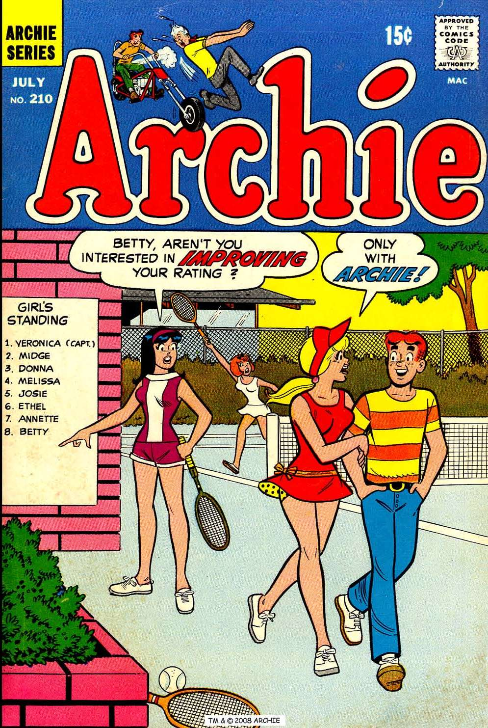 Read online Archie (1960) comic -  Issue #210 - 1