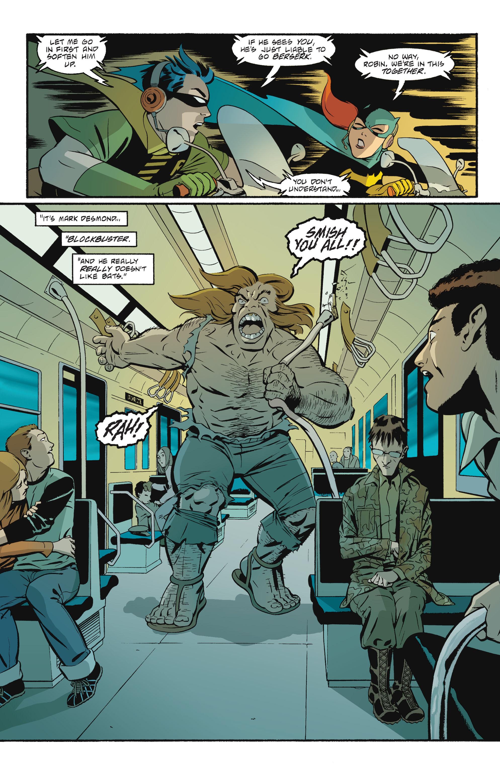 Read online Batgirl/Robin: Year One comic -  Issue # TPB 2 - 163