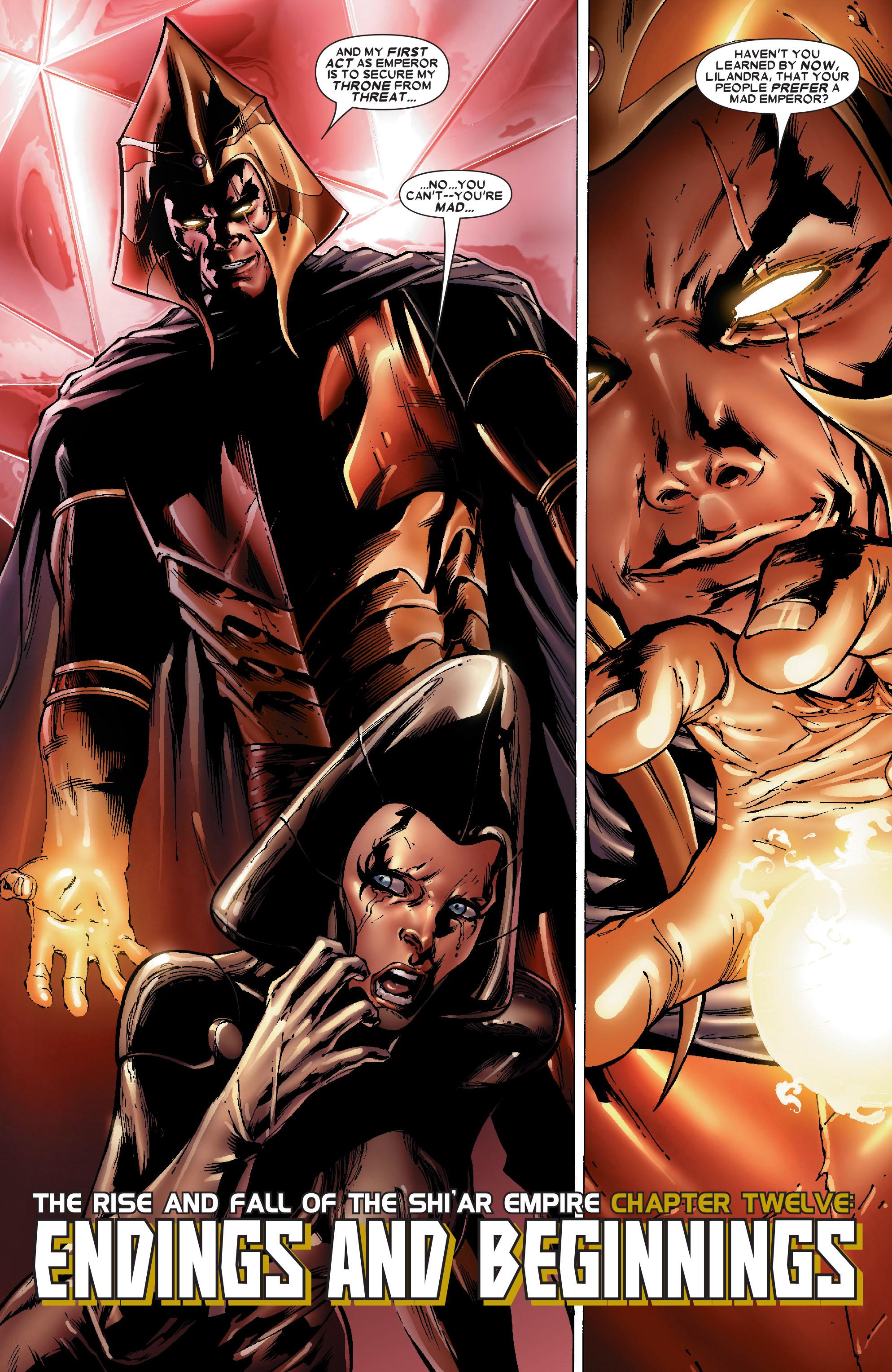 Read online Uncanny X-Men (1963) comic -  Issue #486 - 4