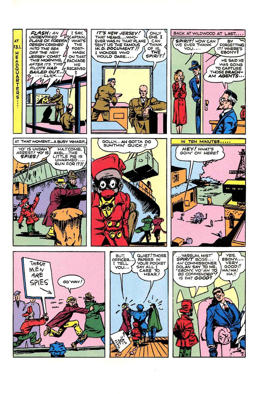 Read online Will Eisner's The Spirit Archives comic -  Issue # TPB 1 (Part 2) - 76