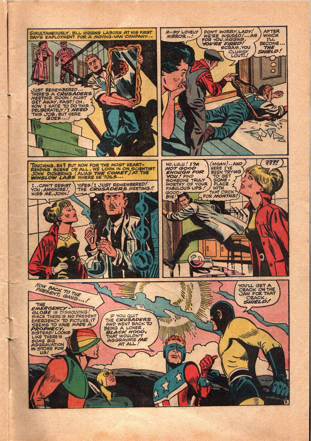 The Mighty Crusaders (1965) Issue #4 #4 - English 4