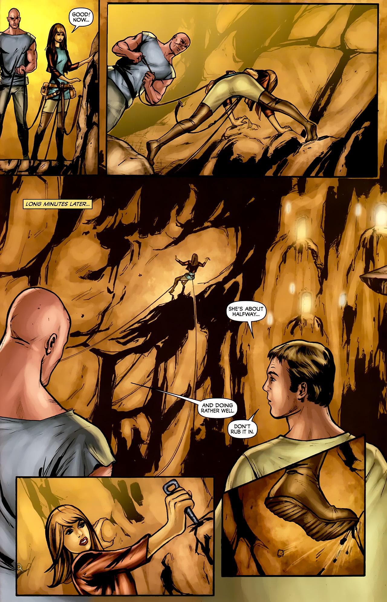 Read online Stargate: Daniel Jackson comic -  Issue #3 - 15