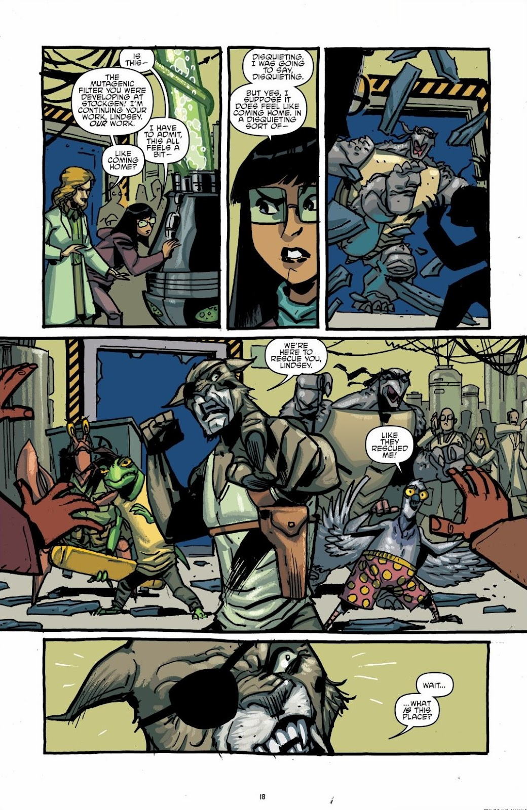 Read online Teenage Mutant Ninja Turtles: The IDW Collection comic -  Issue # TPB 6 (Part 1) - 17
