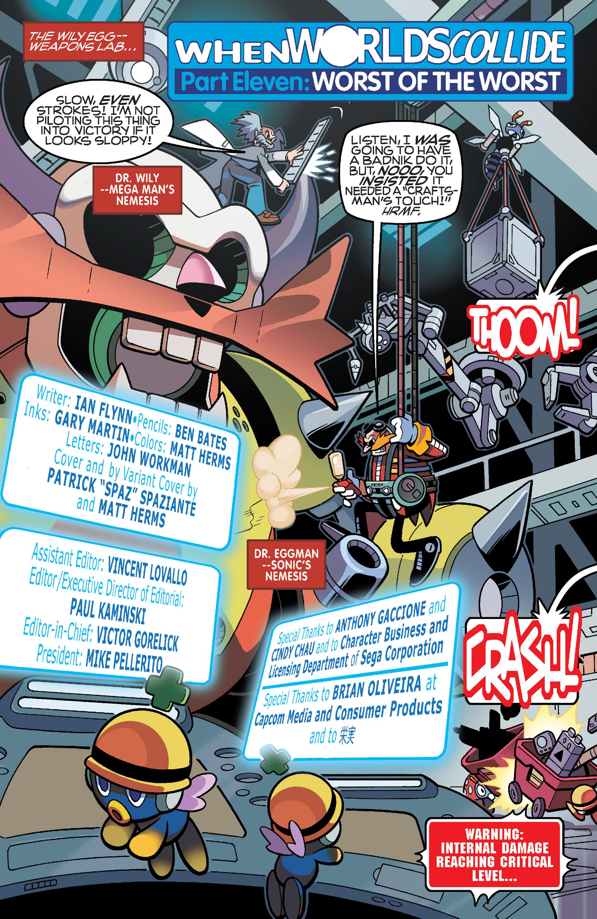 Read online Sonic Mega Man Worlds Collide comic -  Issue # Vol 3 - 73