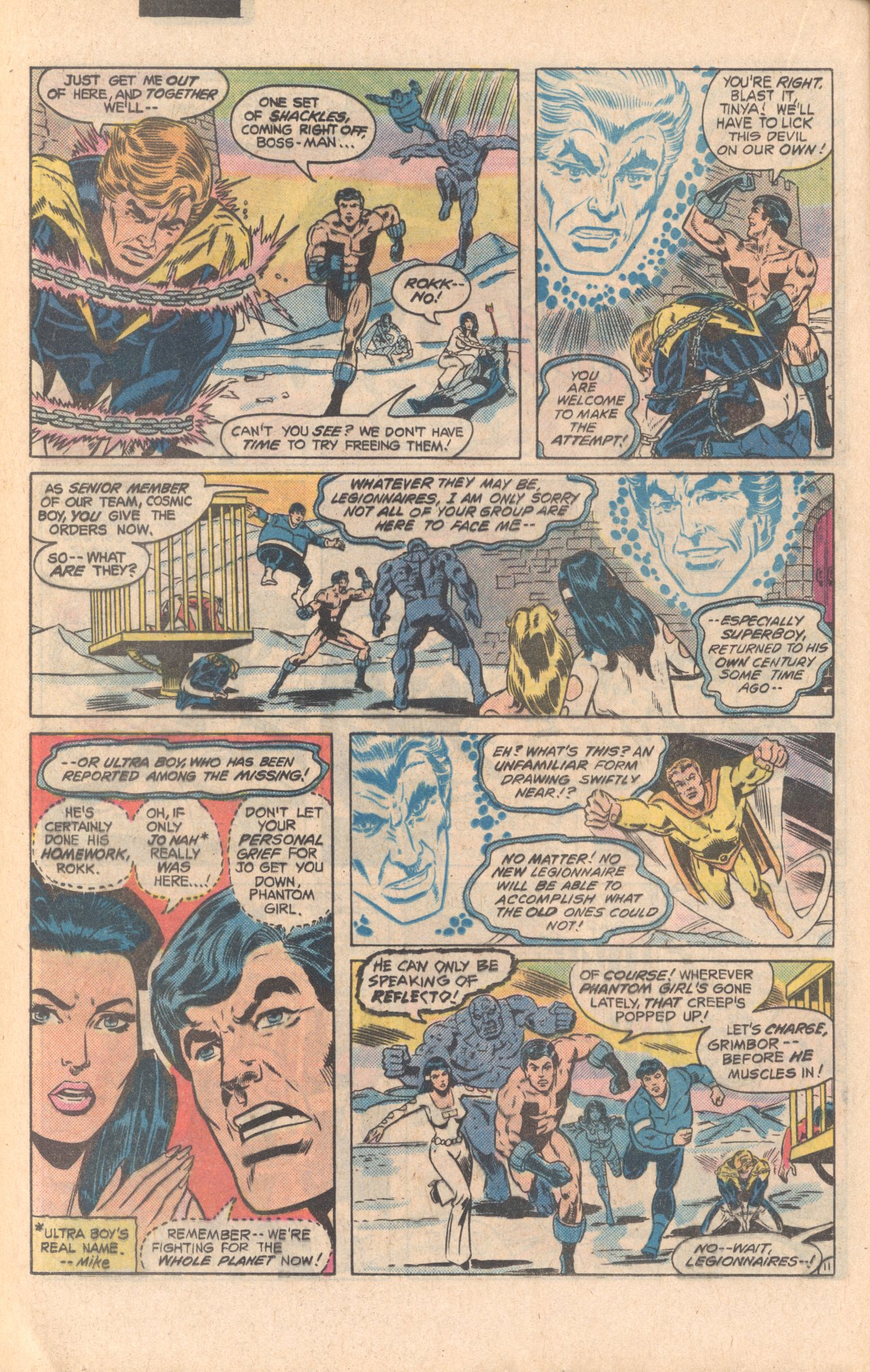 Legion of Super-Heroes (1980) 279 Page 11