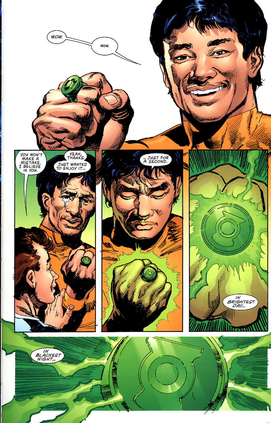Read online Green Lantern: Legacy: The Last Will and Testament of Hal Jordan comic -  Issue # TPB - 104
