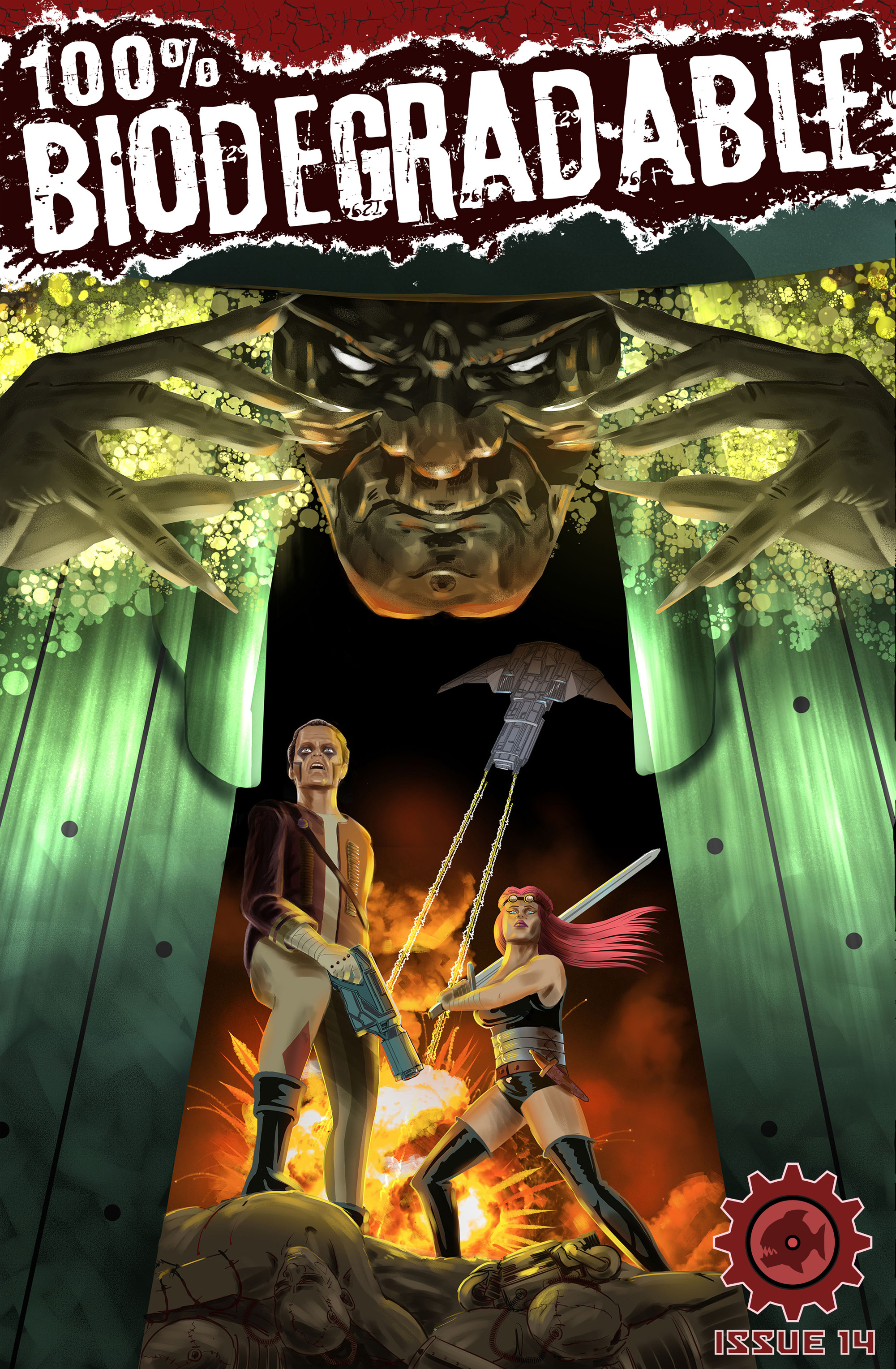Read online 100% Biodegradable comic -  Issue #14 - 1