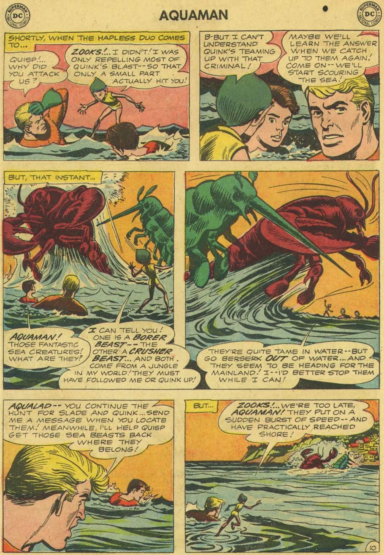 Read online Aquaman (1962) comic -  Issue #6 - 14