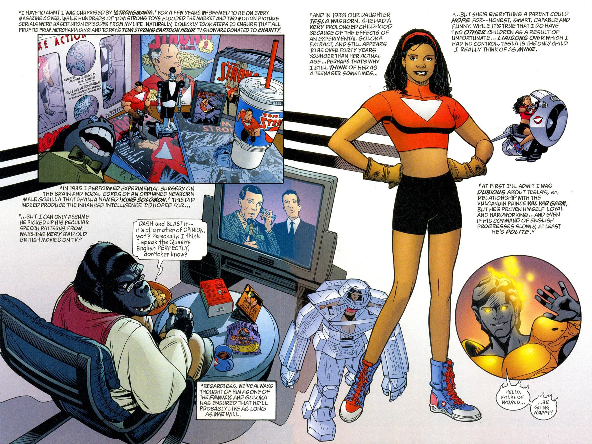 Read online ABC: A-Z, Tom Strong and Jack B. Quick comic -  Issue #ABC: A-Z, Tom Strong and Jack B. Quick Full - 6