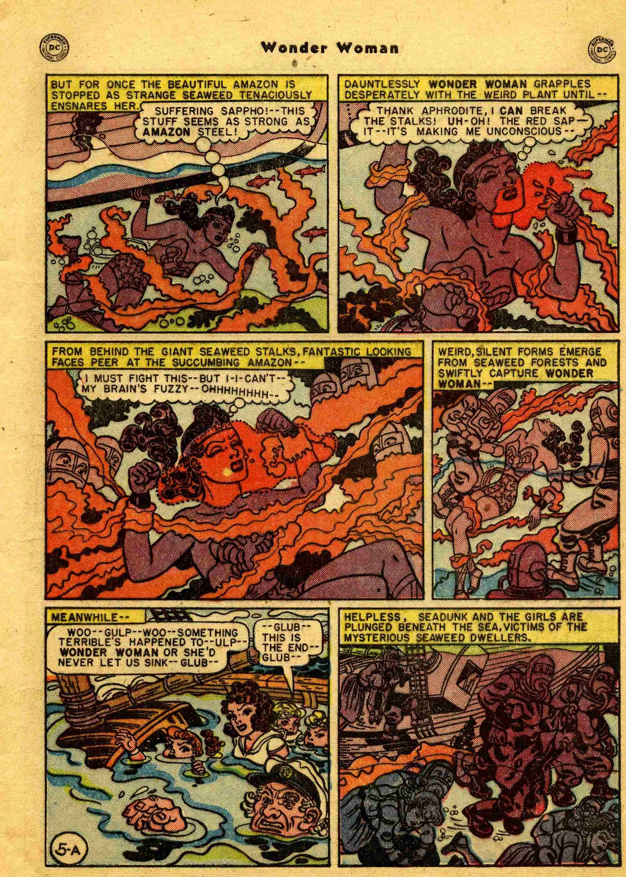 Read online Wonder Woman (1942) comic -  Issue #44 - 6