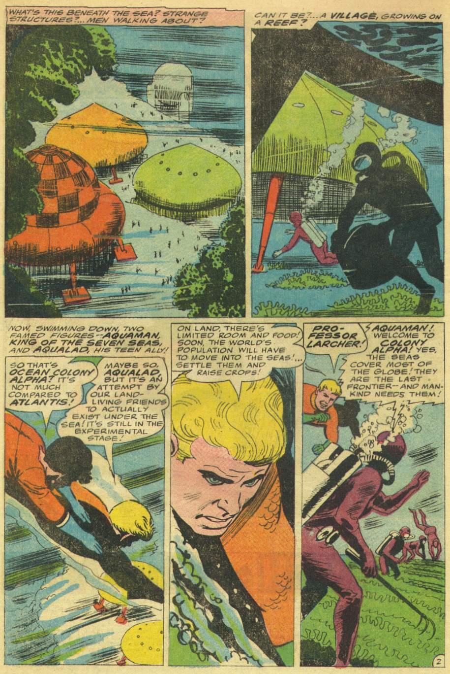 Read online Aquaman (1962) comic -  Issue #30 - 4