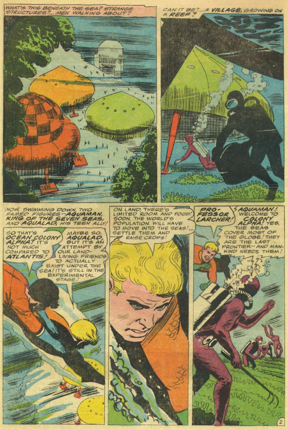 Aquaman (1962) Issue #30 #30 - English 4