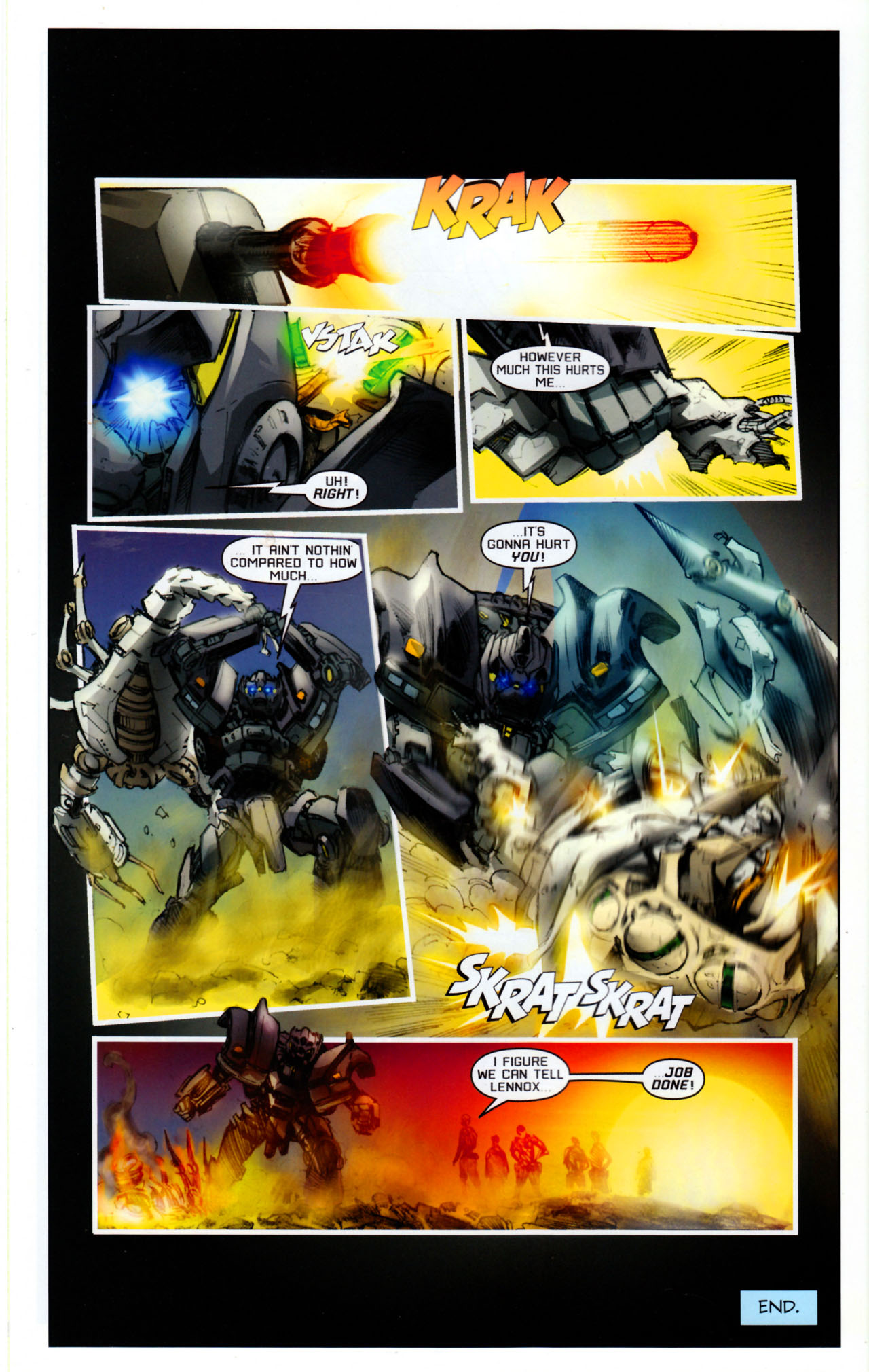 Read online Transformers: Saga of the Allspark comic -  Issue #4 - 23