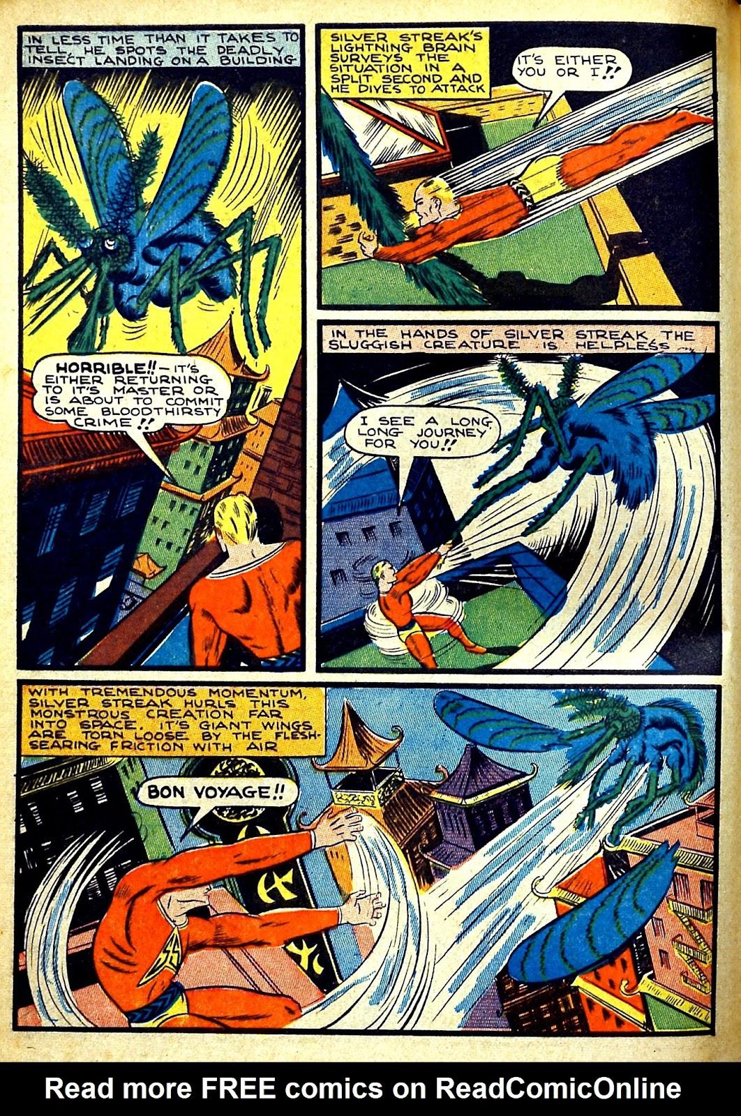 Read online Silver Streak Comics comic -  Issue #22 - 6