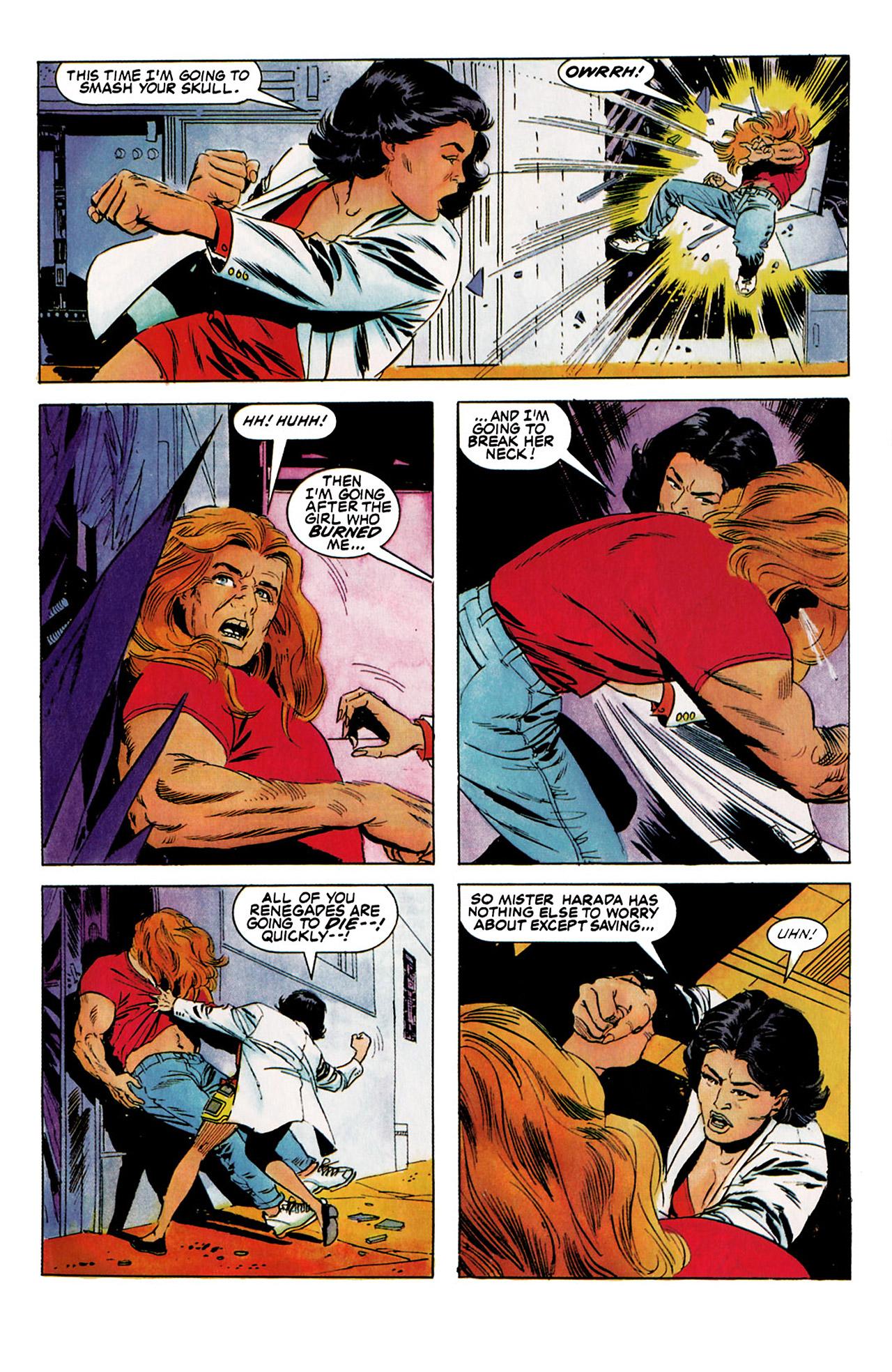 Read online Harbinger (1992) comic -  Issue #5 - 17