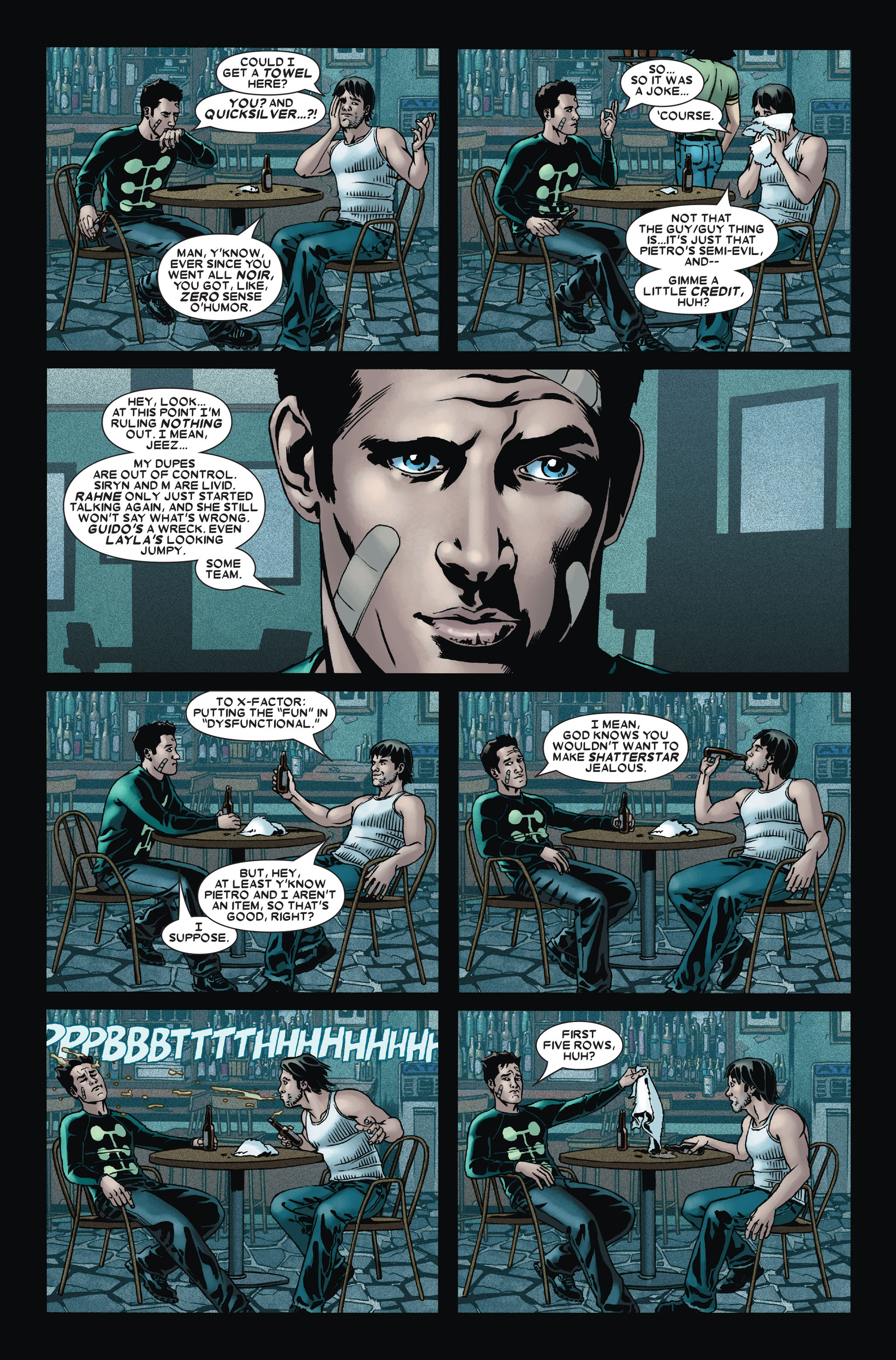 Read online X-Factor (2006) comic -  Issue #14 - 10