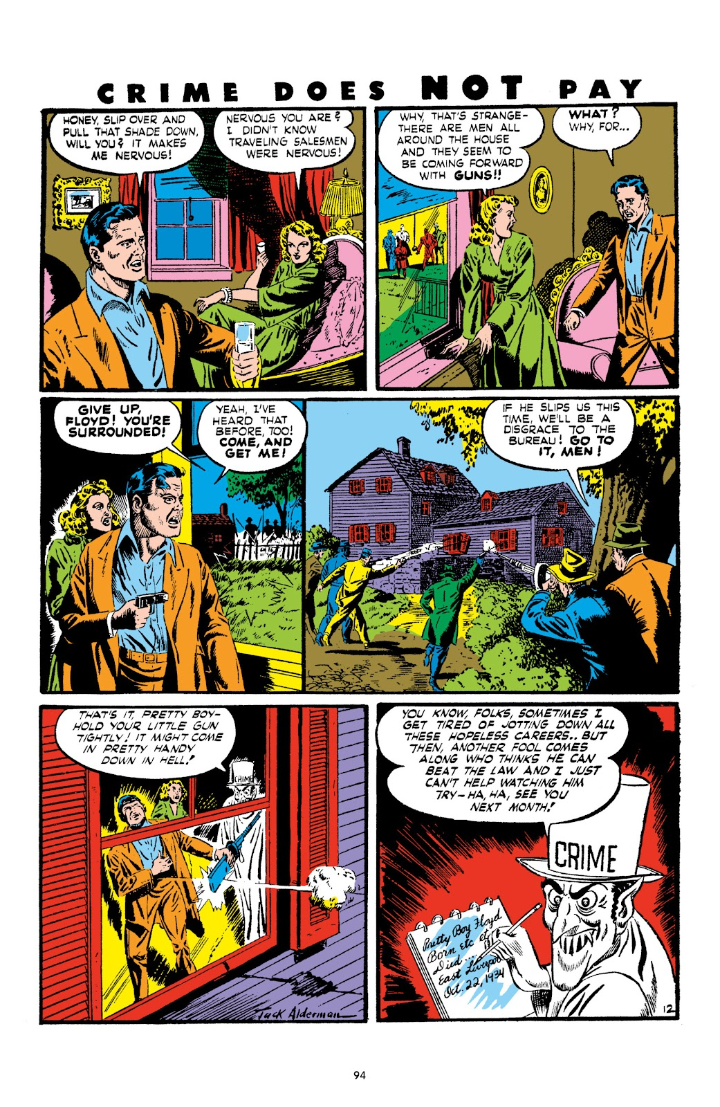 Read online Crime Does Not Pay Archives comic -  Issue # TPB 2 (Part 1) - 94