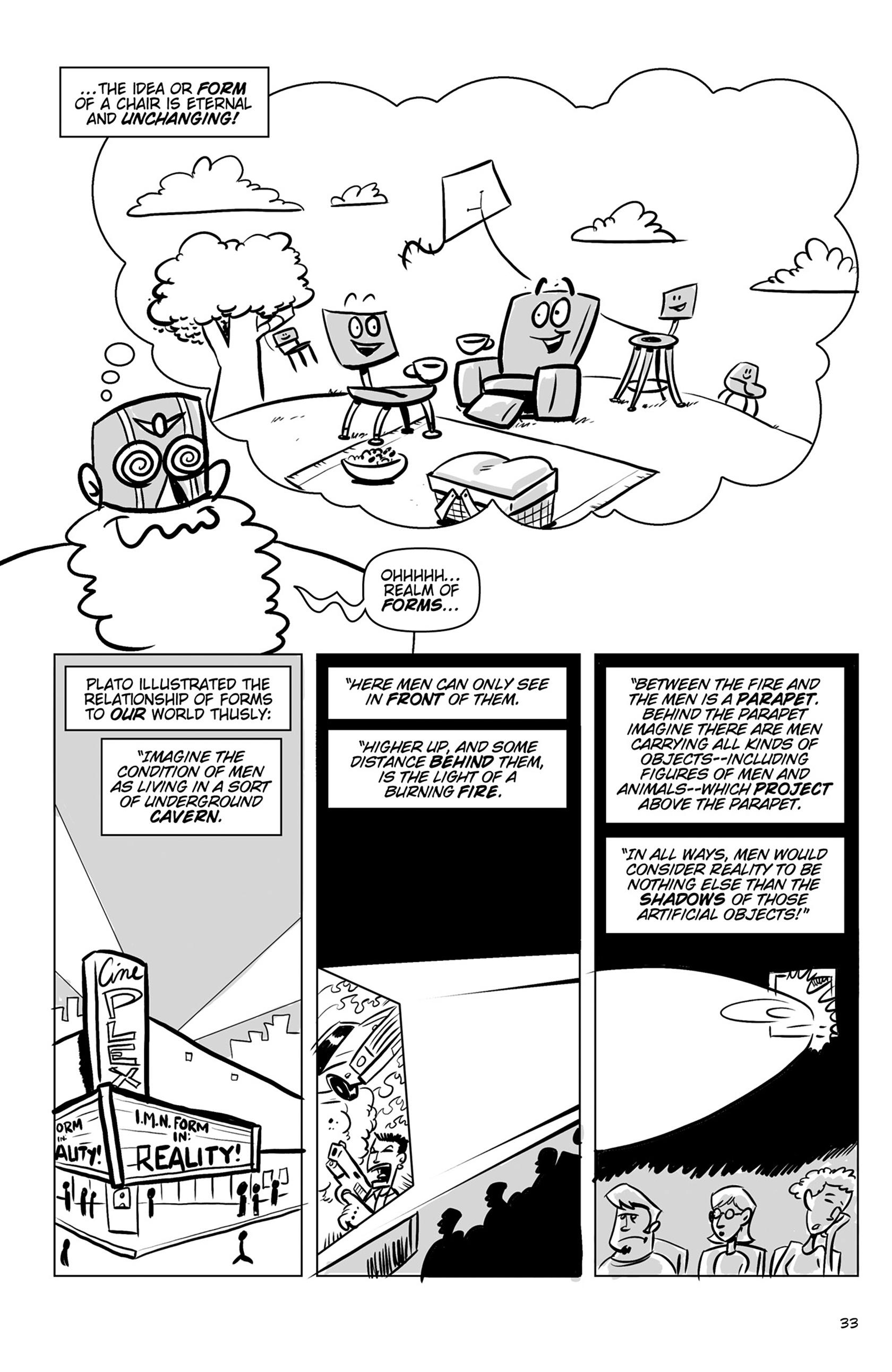 Read online Action Philosophers! comic -  Issue #Action Philosophers! TPB (Part 1) - 33