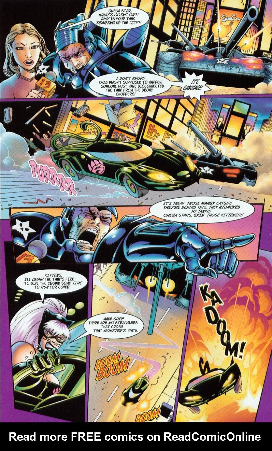 Read online 3 Little Kittens: Purrr-fect Weapons comic -  Issue #2 - 13