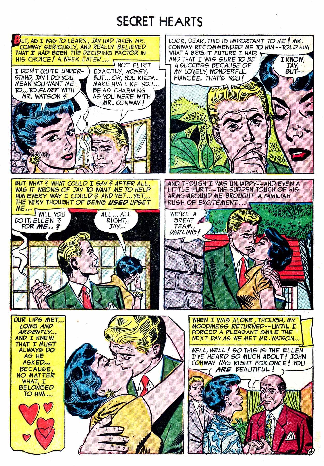 Read online Secret Hearts comic -  Issue #19 - 5