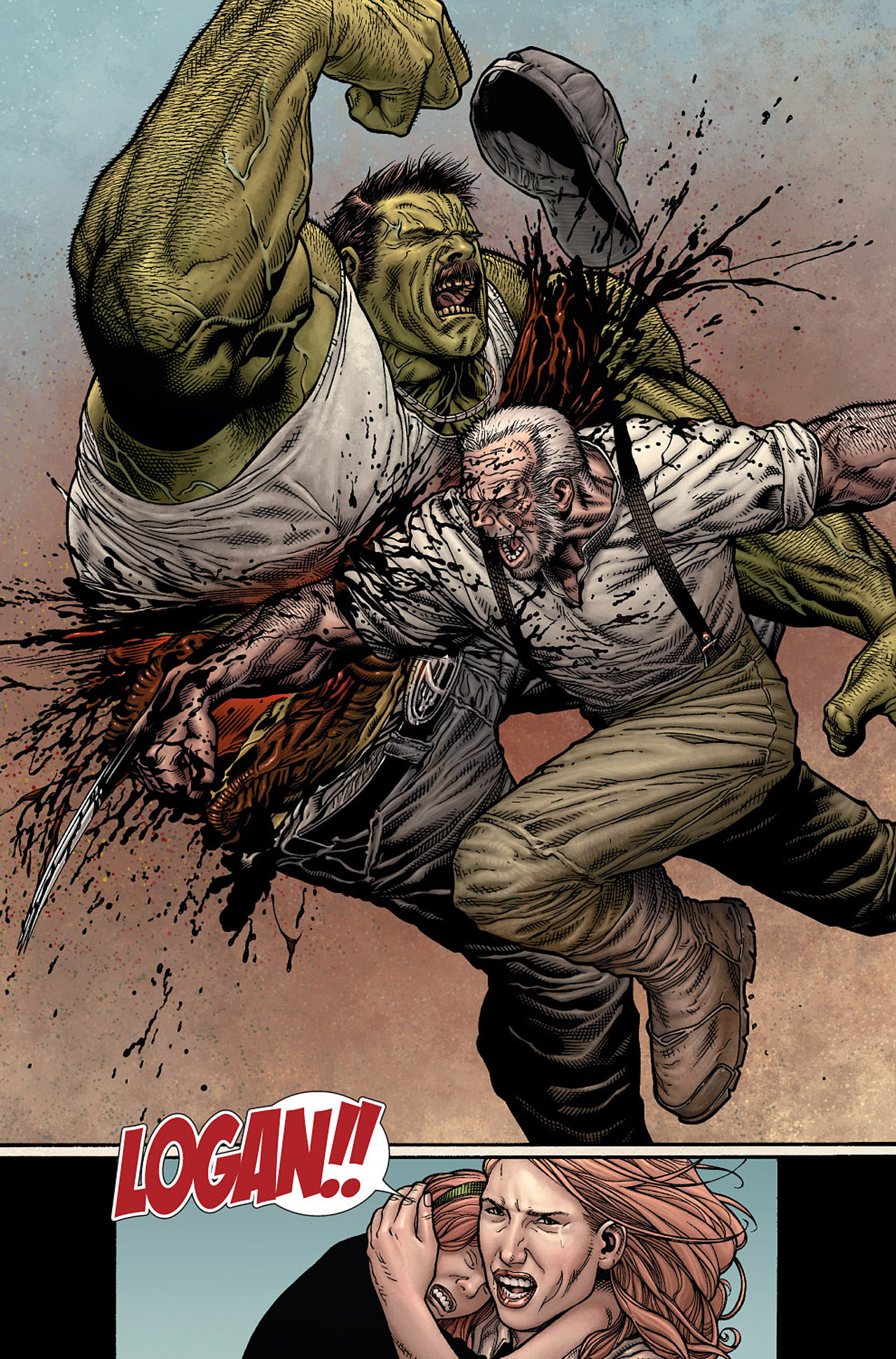 Read online Wolverine: Old Man Logan comic -  Issue # Full - 15